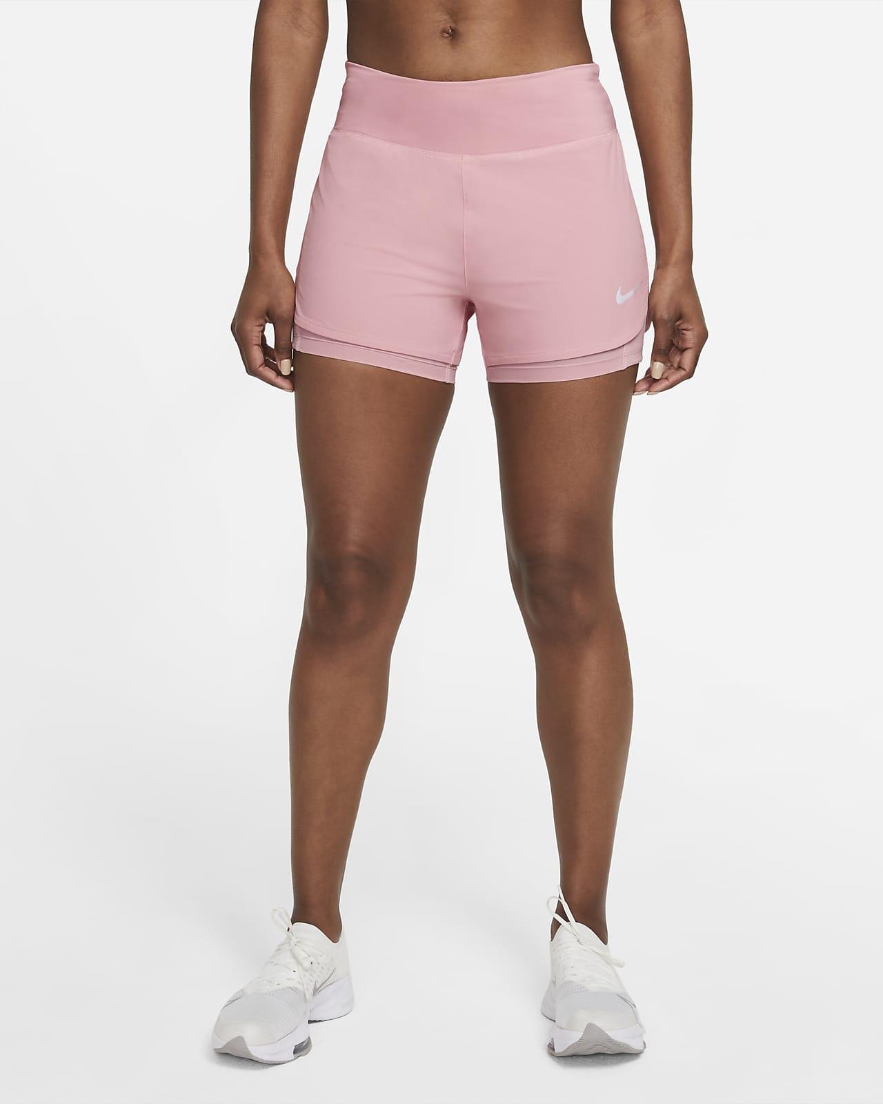 Shorts de running 2 en 1 para mujer Nike Eclipse