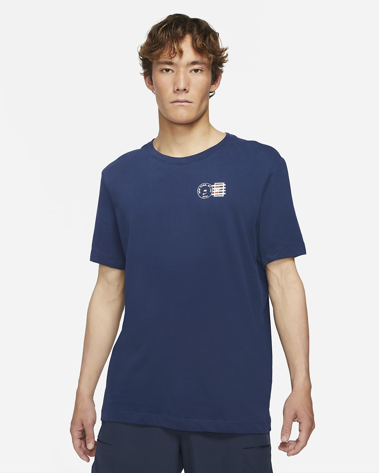 NikeCourt Dri-FIT Tennis-T-Shirt mit Grafik für Herren