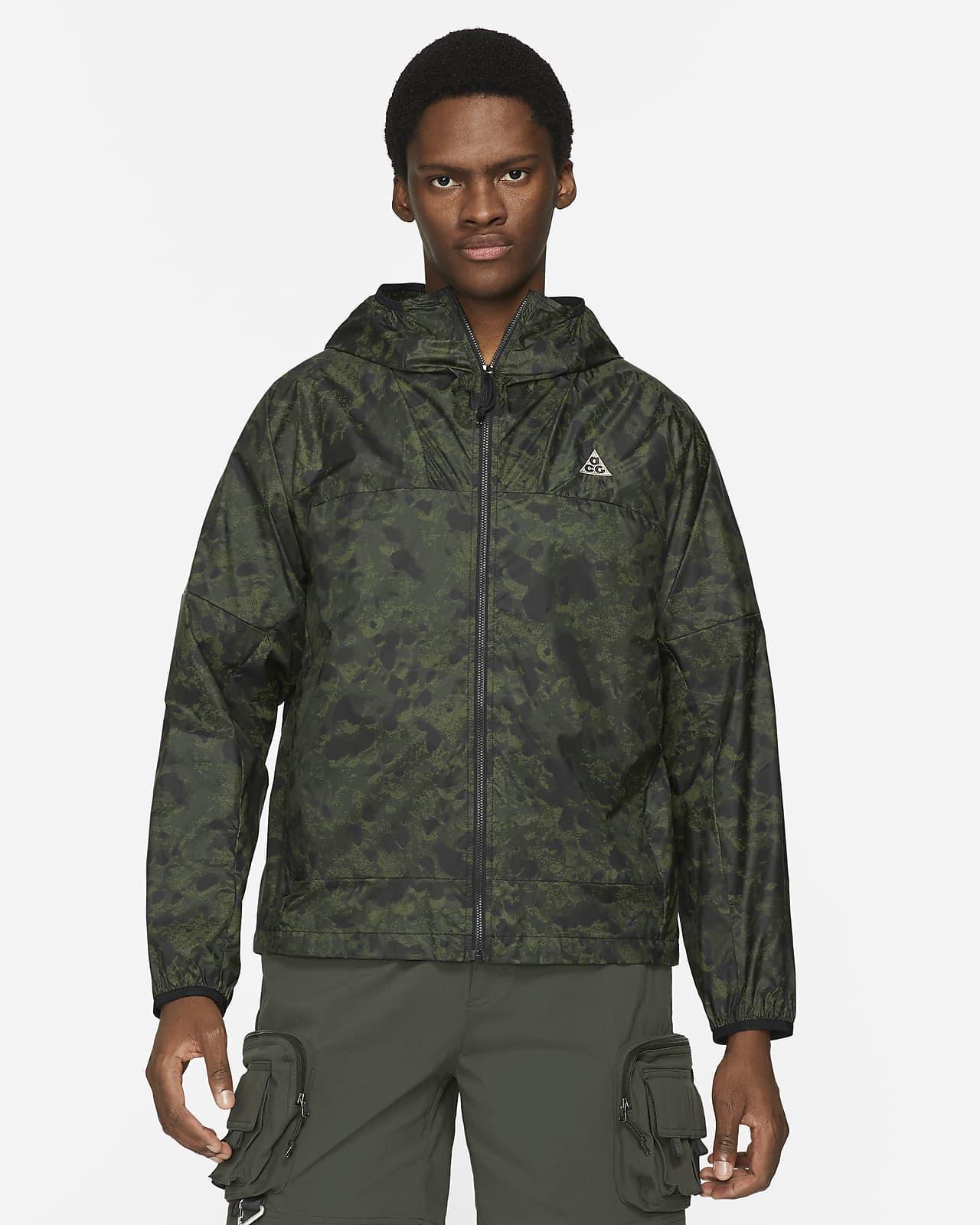 """Nike ACG """"Cinder Cone"""" winddichte Jacke mit durchgehendem Print für Herren"""