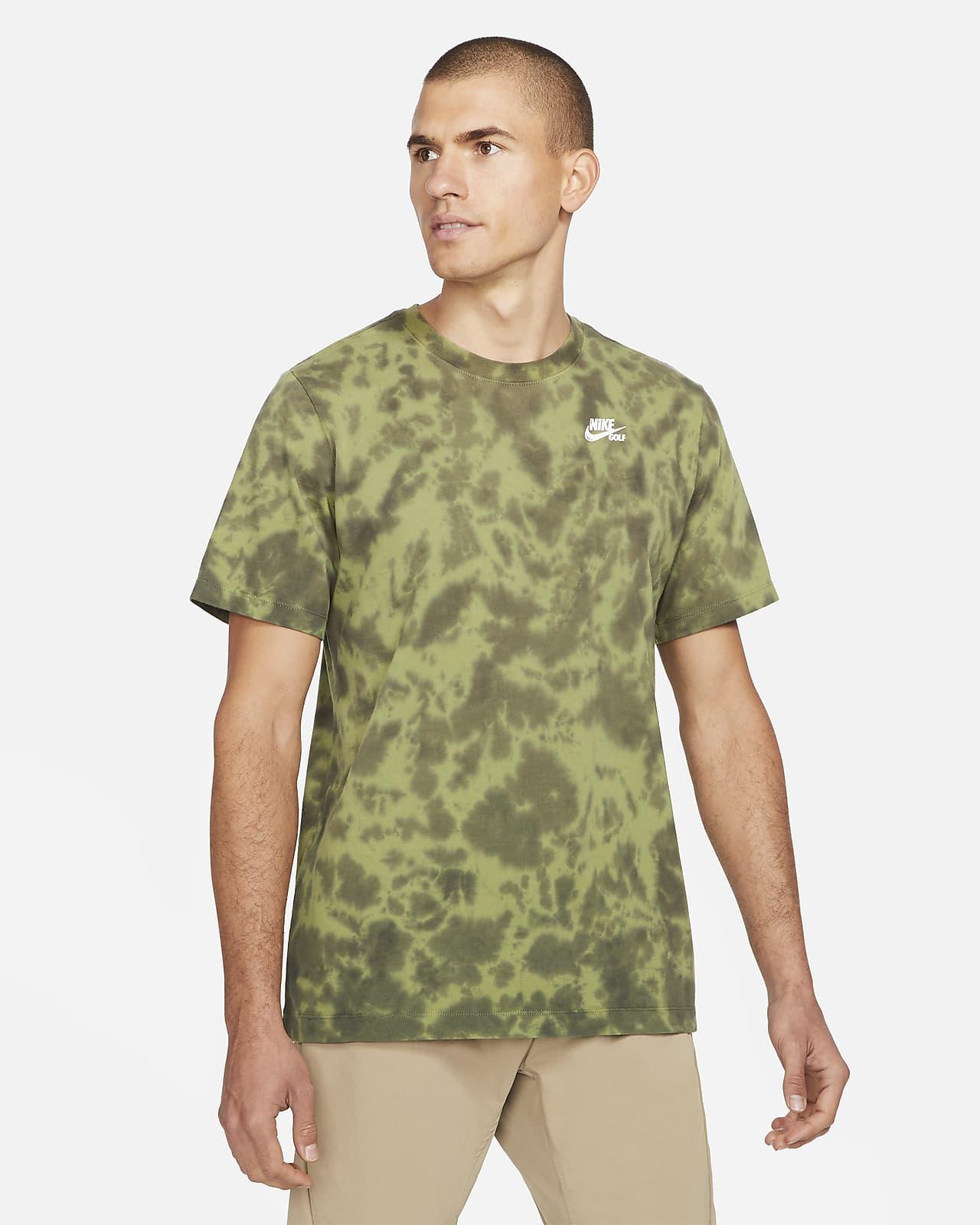 T-shirt de golfe tie-dye Nike para homem