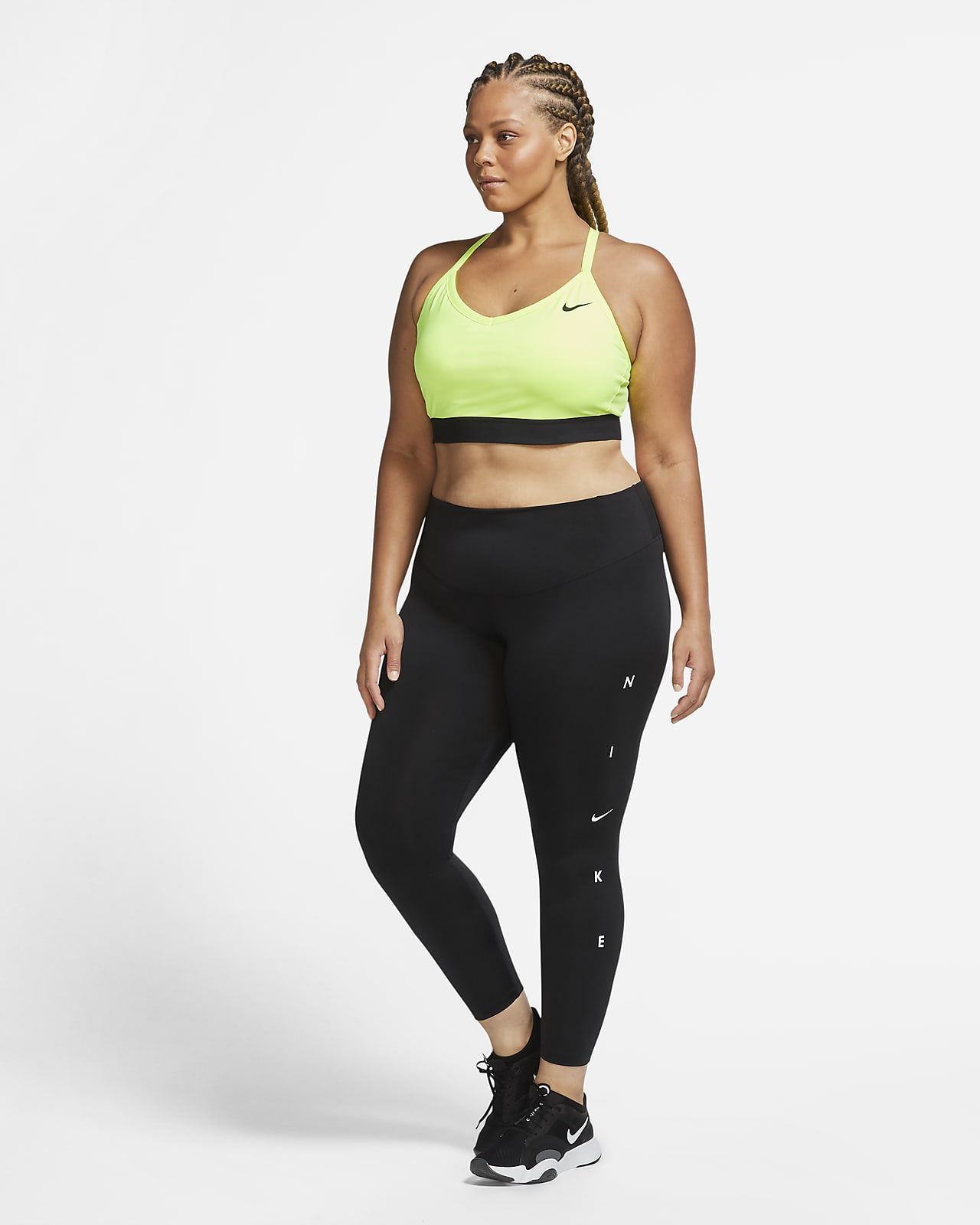 Nike One 7/8-tights voor dames (grote maten). Nike BE