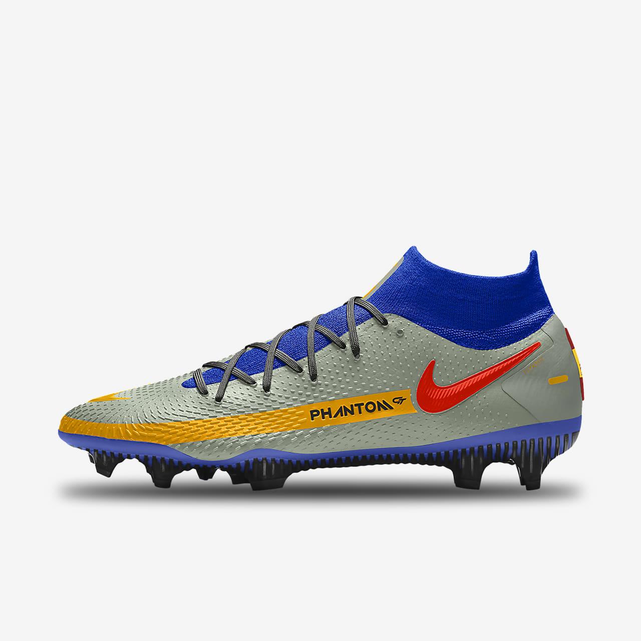 Chaussure de football à crampons pour terrain sec personnalisable Nike Phantom GT Elite By You