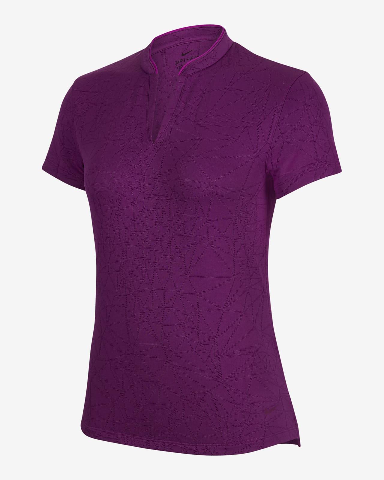 เสื้อโปโลกอล์ฟผู้หญิง Nike Breathe