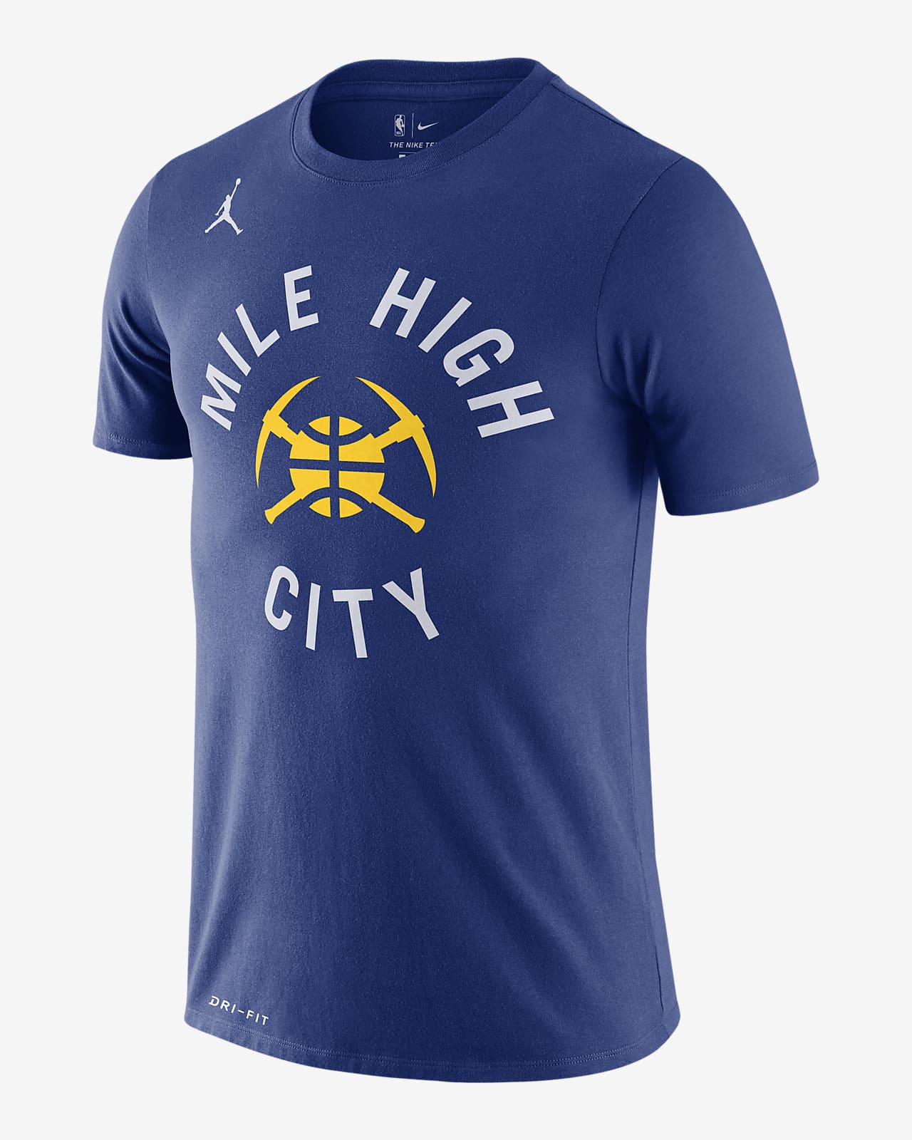 Nuggets Statement Edition Men's Jordan Dri-FIT NBA T-Shirt
