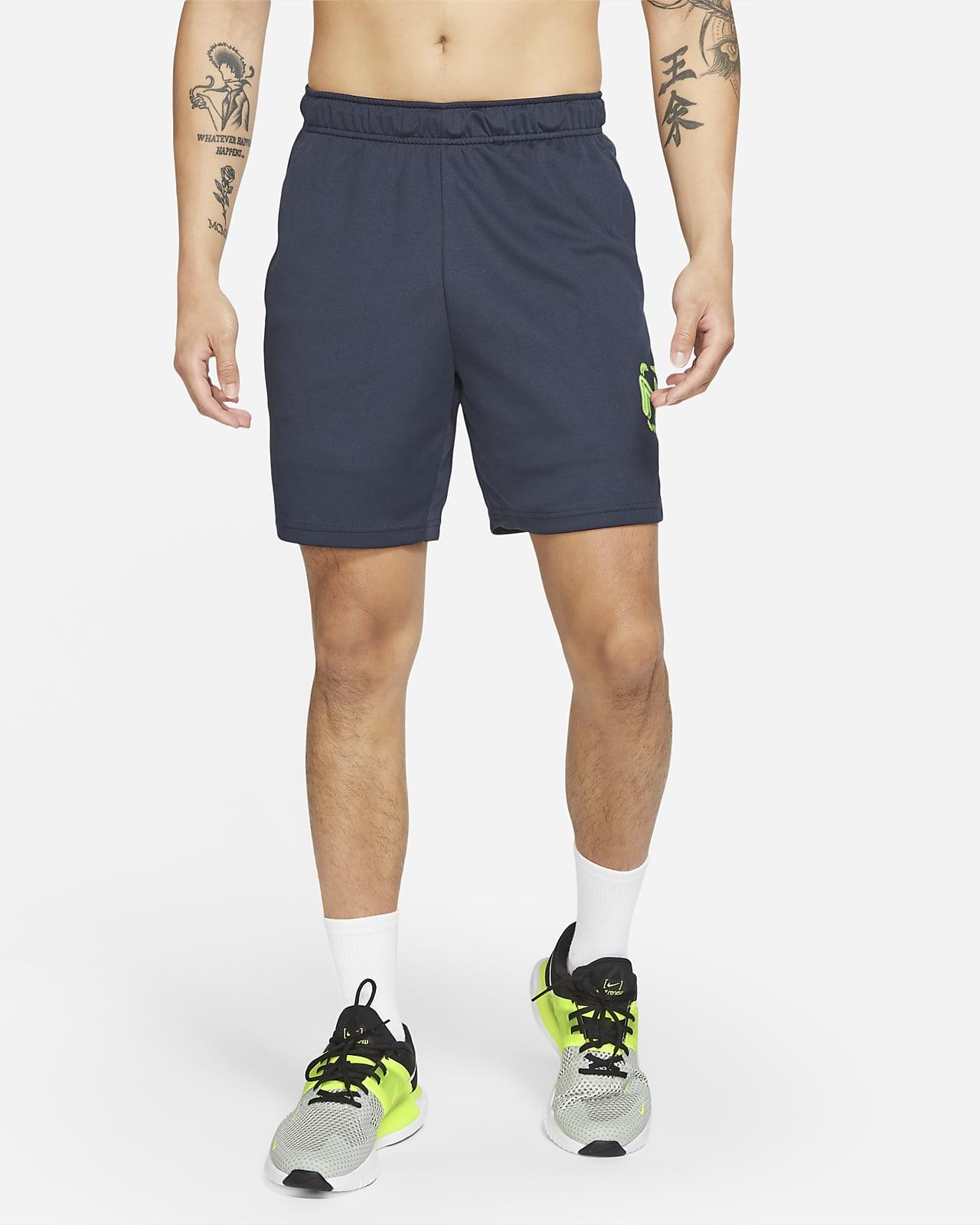 Nike Dri-FIT Men's Knit Graphic Training Shorts