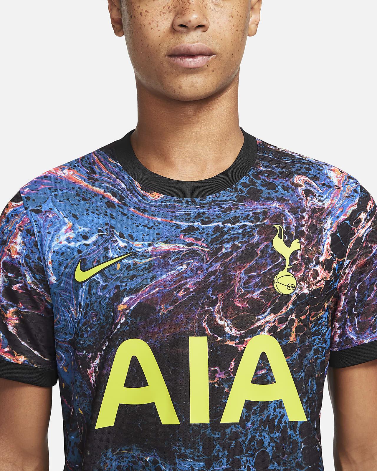 Tottenham Hotspur 2021 22 Match Away Men S Nike Dri Fit Adv Football Shirt Nike Gb