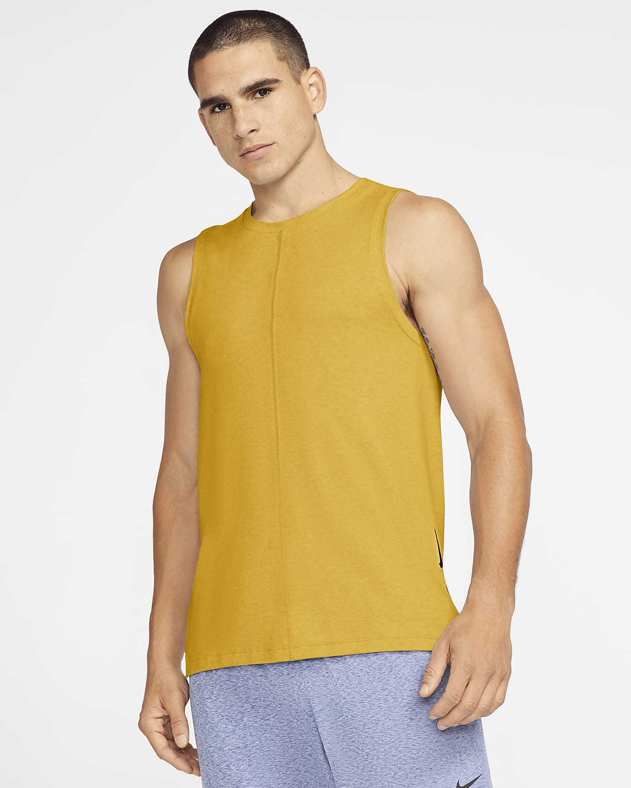 Camiseta de tirantes para hombre Nike Yoga