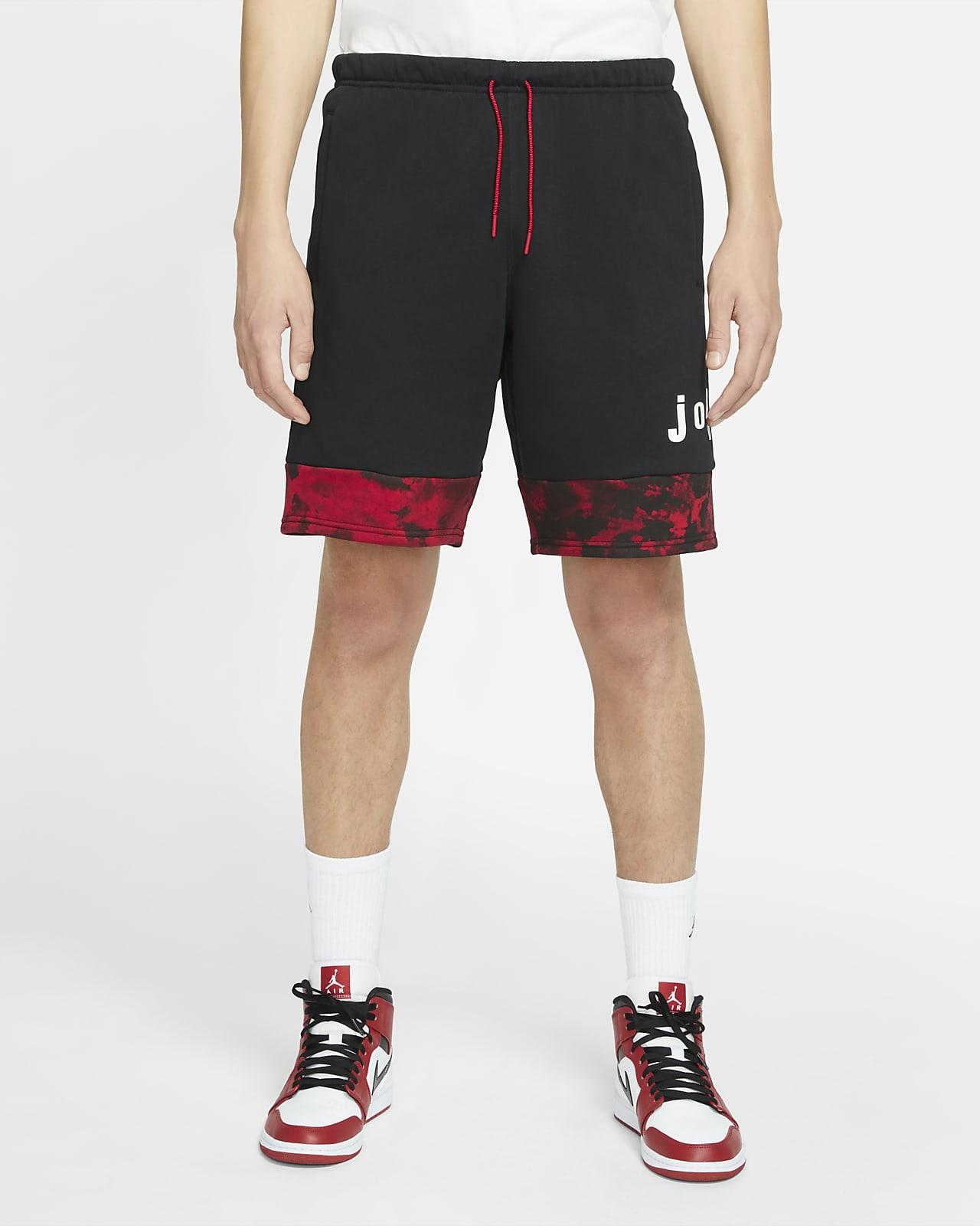 Shorts de tejido Fleece con gráfico para hombre Jordan Legacy AJ6