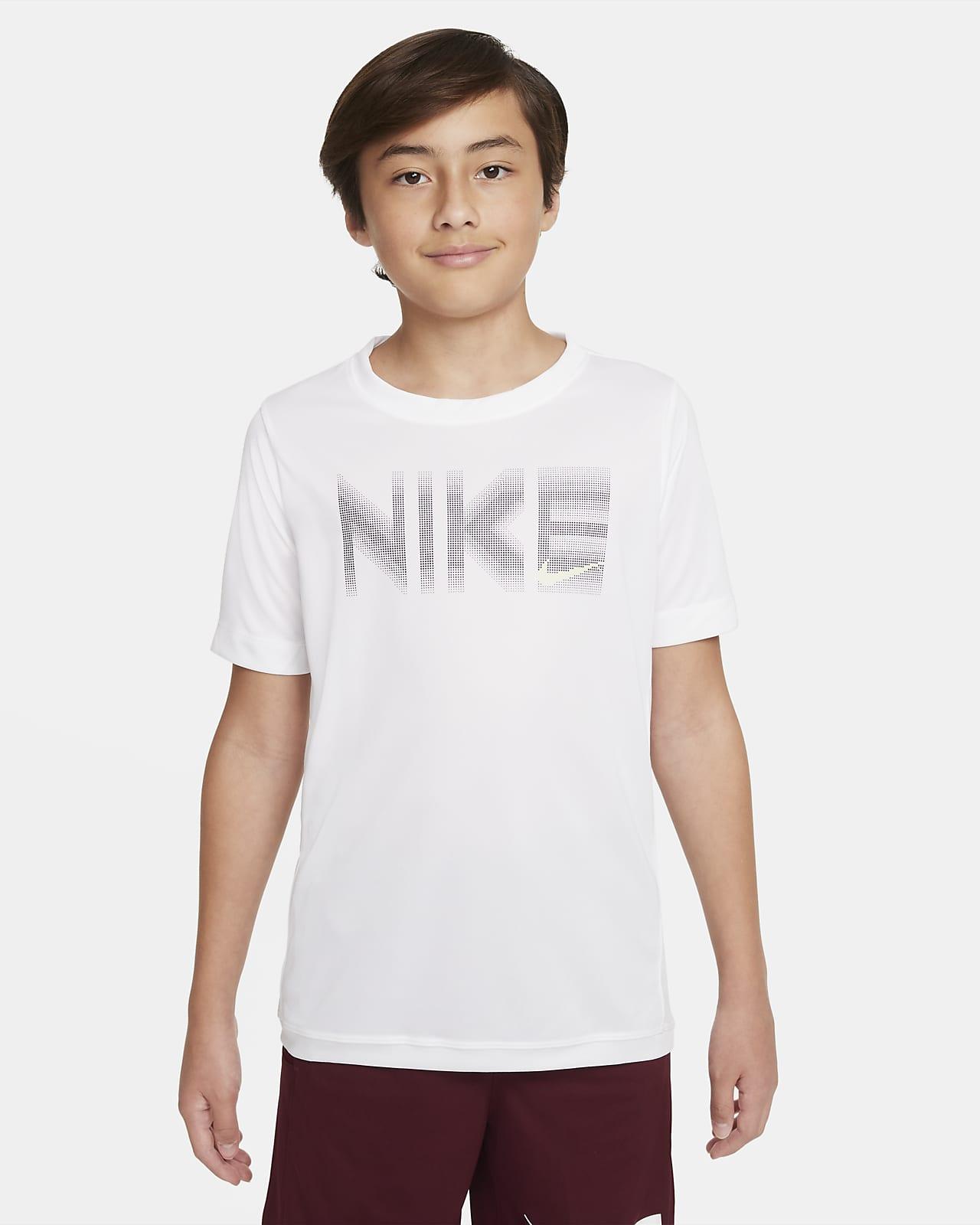 Nike Trophy Big Kids' (Boys') Short-Sleeve Graphic Top