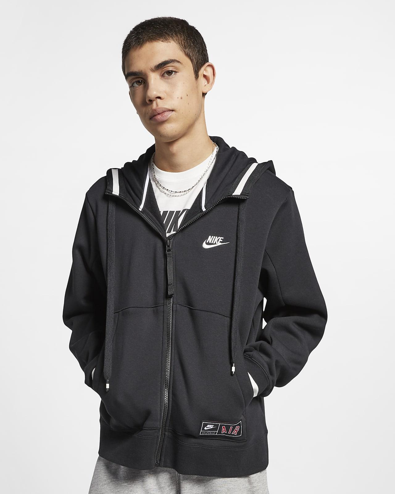 Nike Air Men's Full-Zip Fleece Hoodie