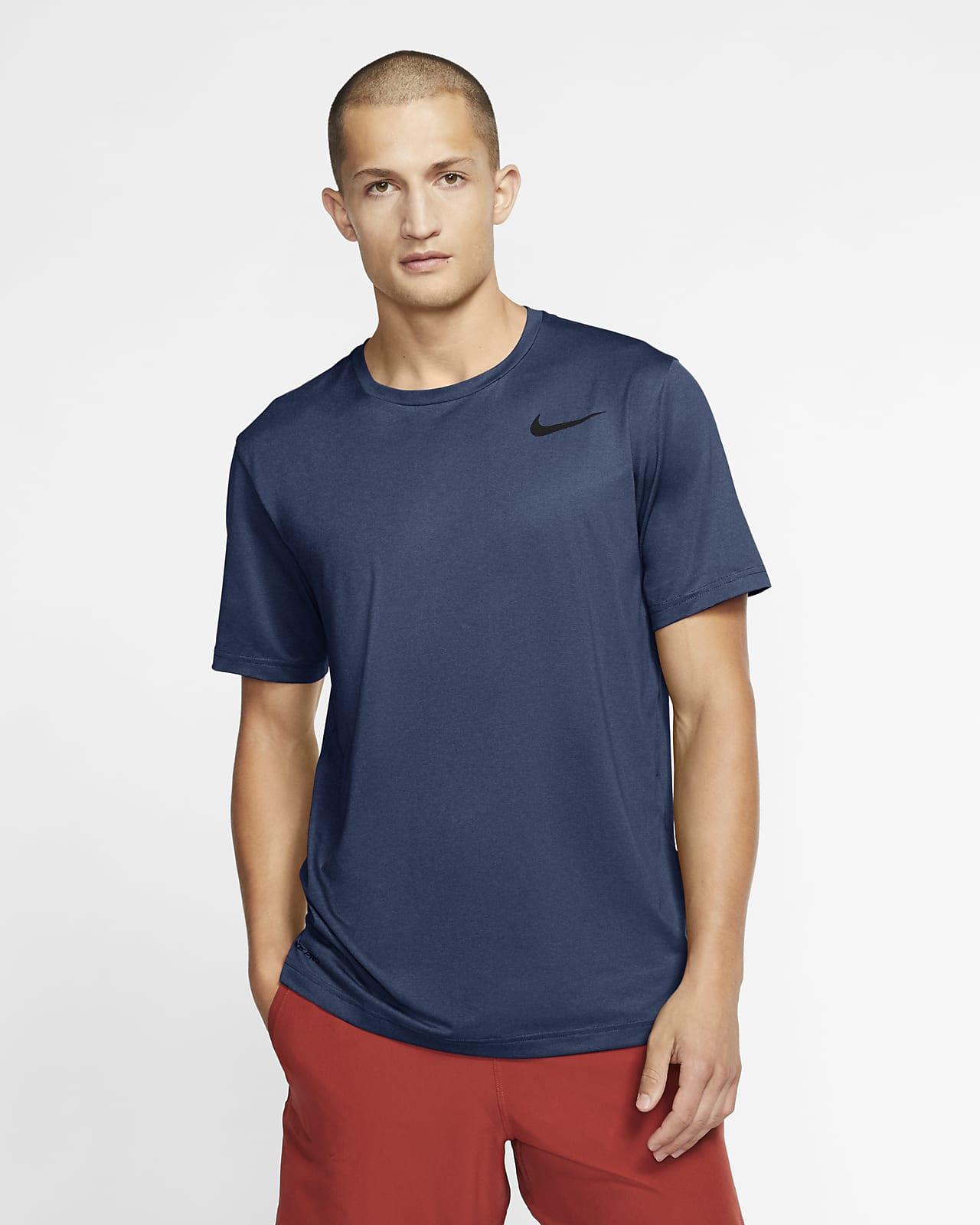 Nike Pro-kortærmet overdel til mænd