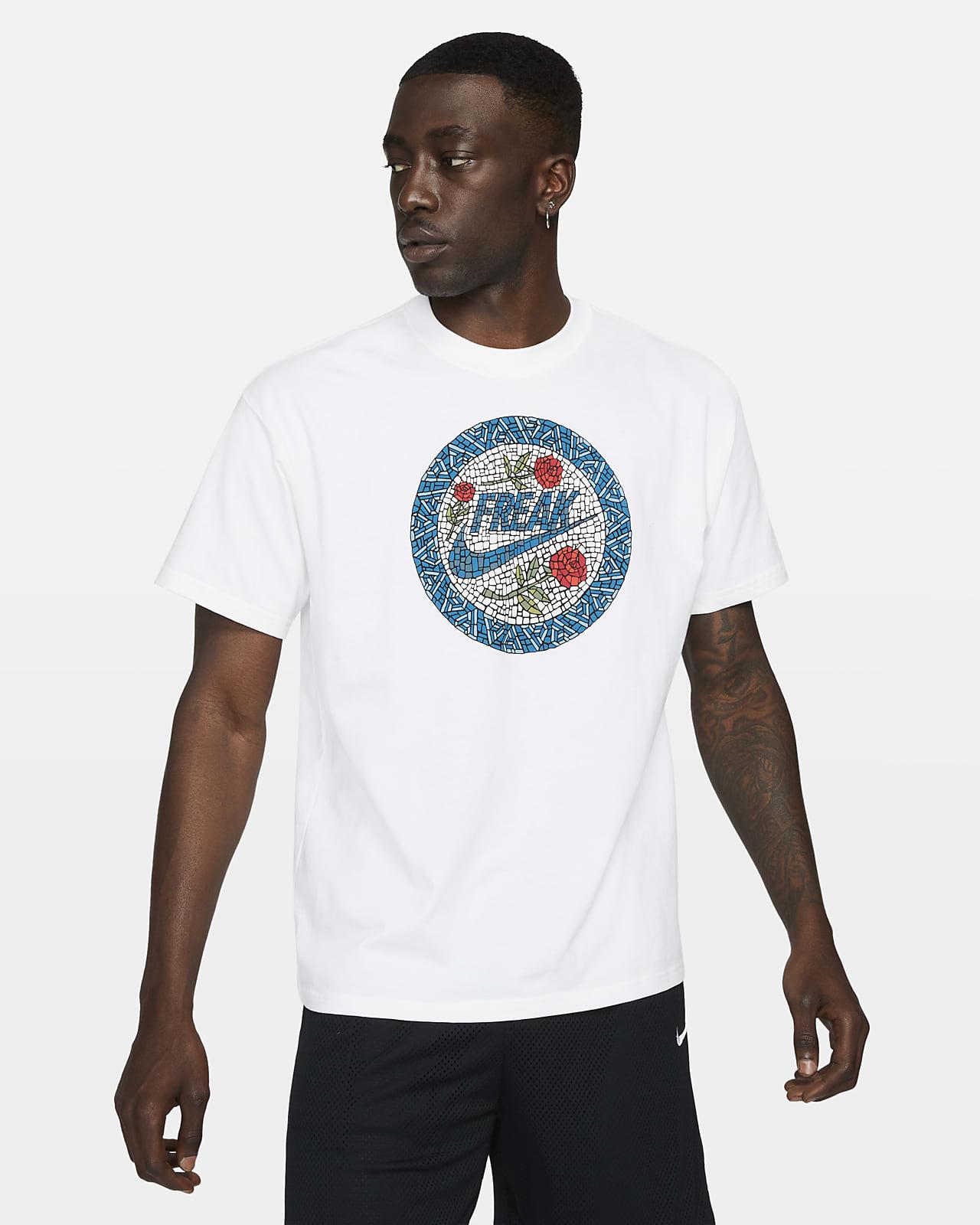 Giannis Swoosh Freak Nike Basketball-T-Shirt für Herren