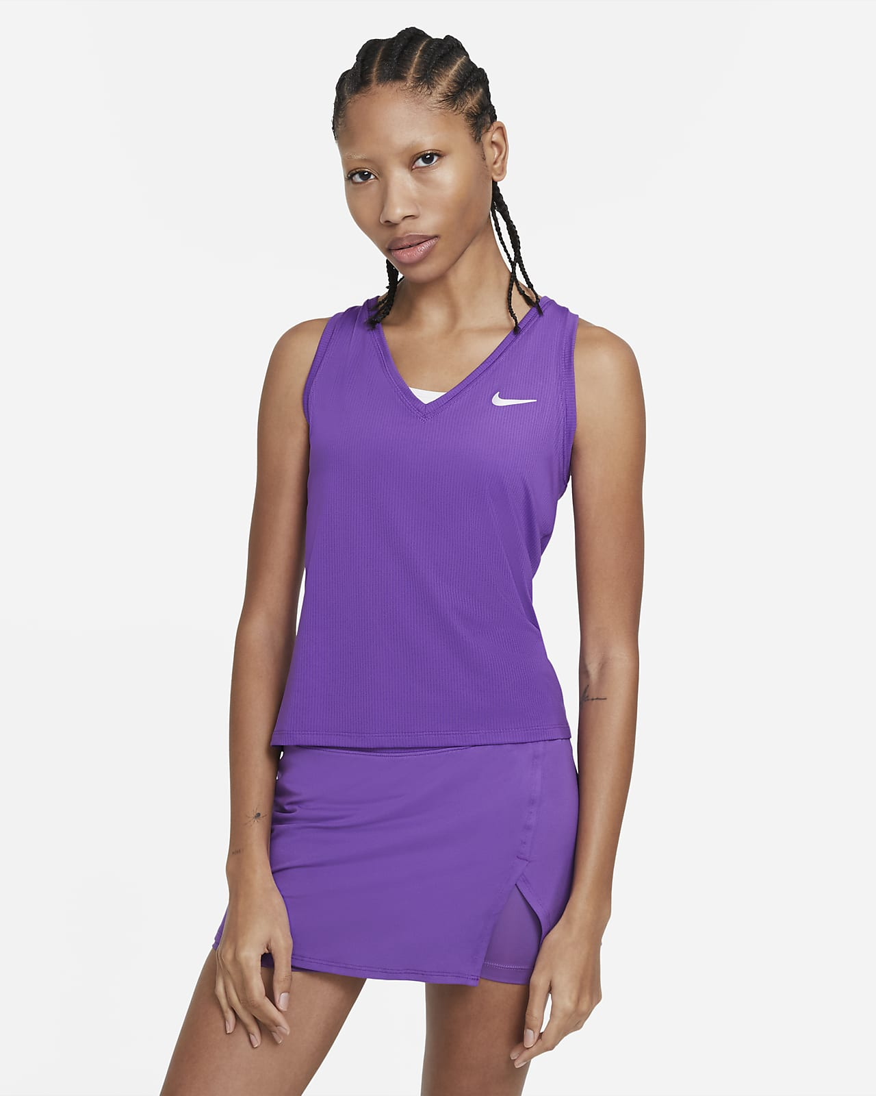 Canotta da tennis NikeCourt Victory - Donna