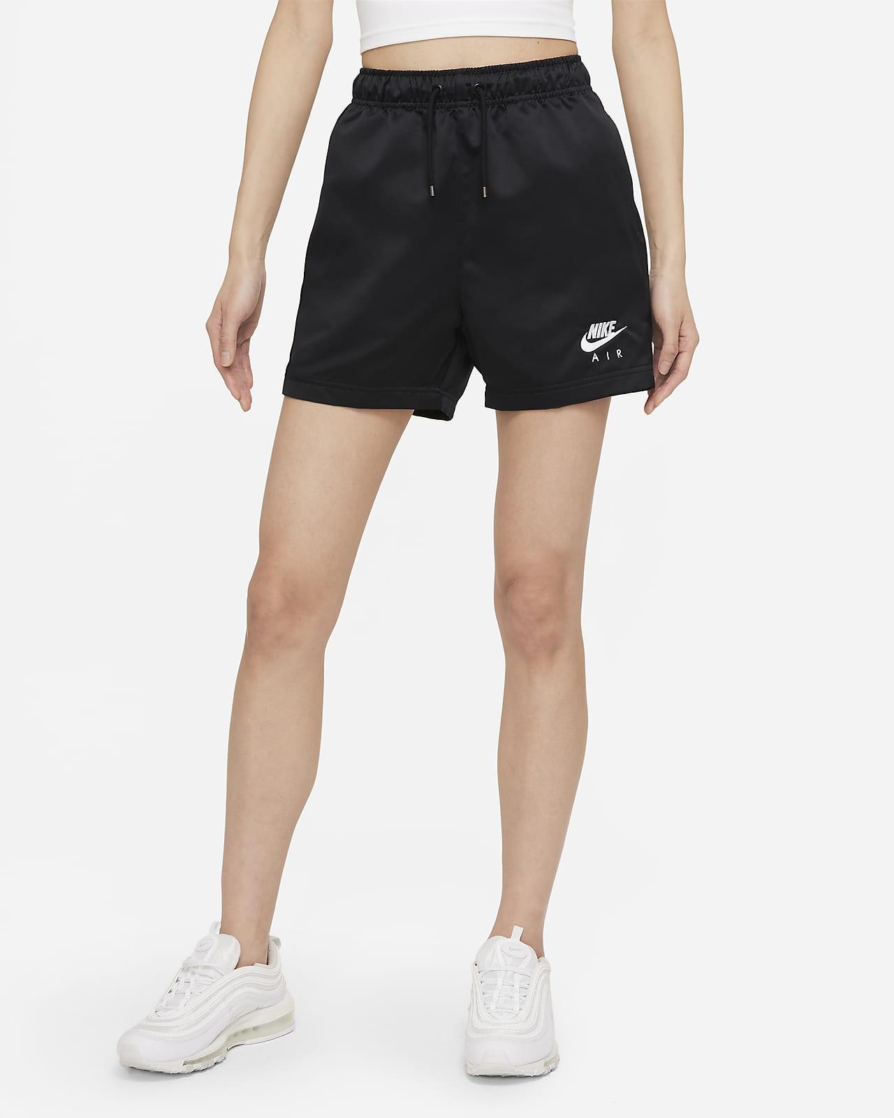 Nike Air 女款梭織高腰短褲
