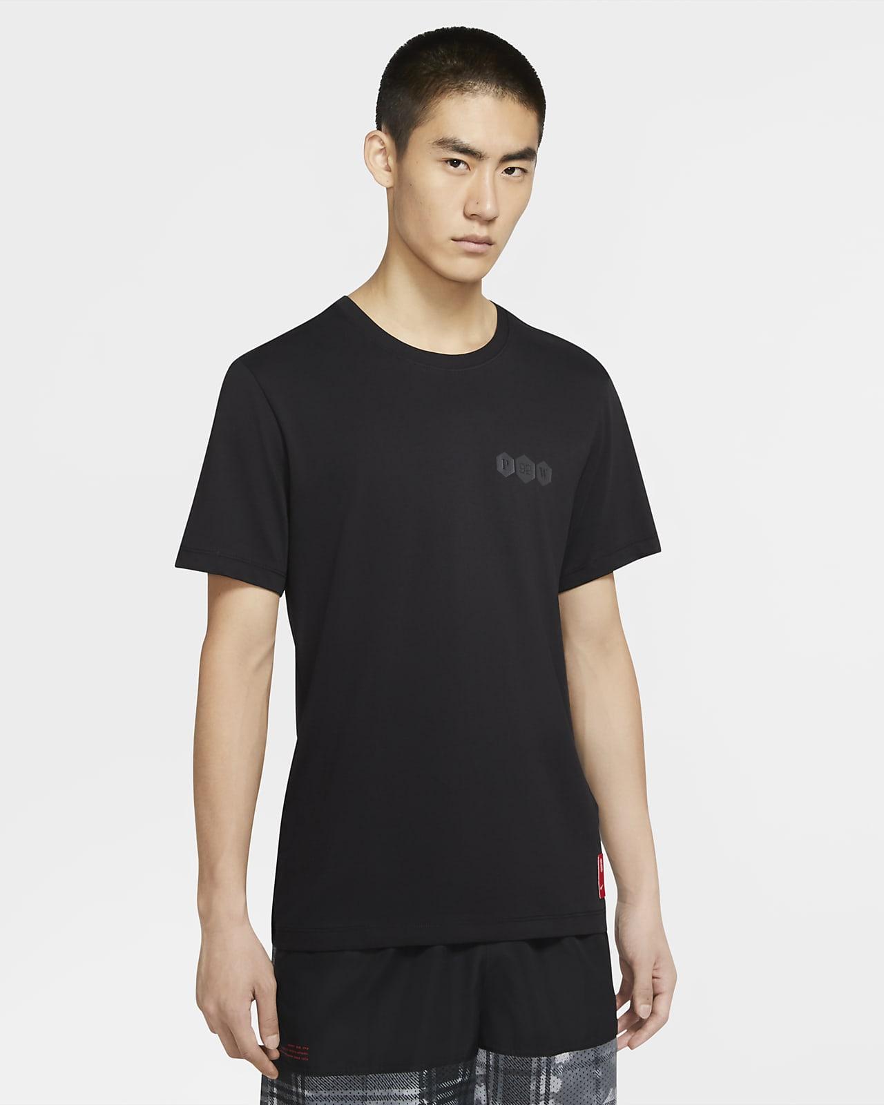 เสื้อยืดบาสเก็ตบอลผู้ชาย Nike Dri-FIT Kyrie Logo