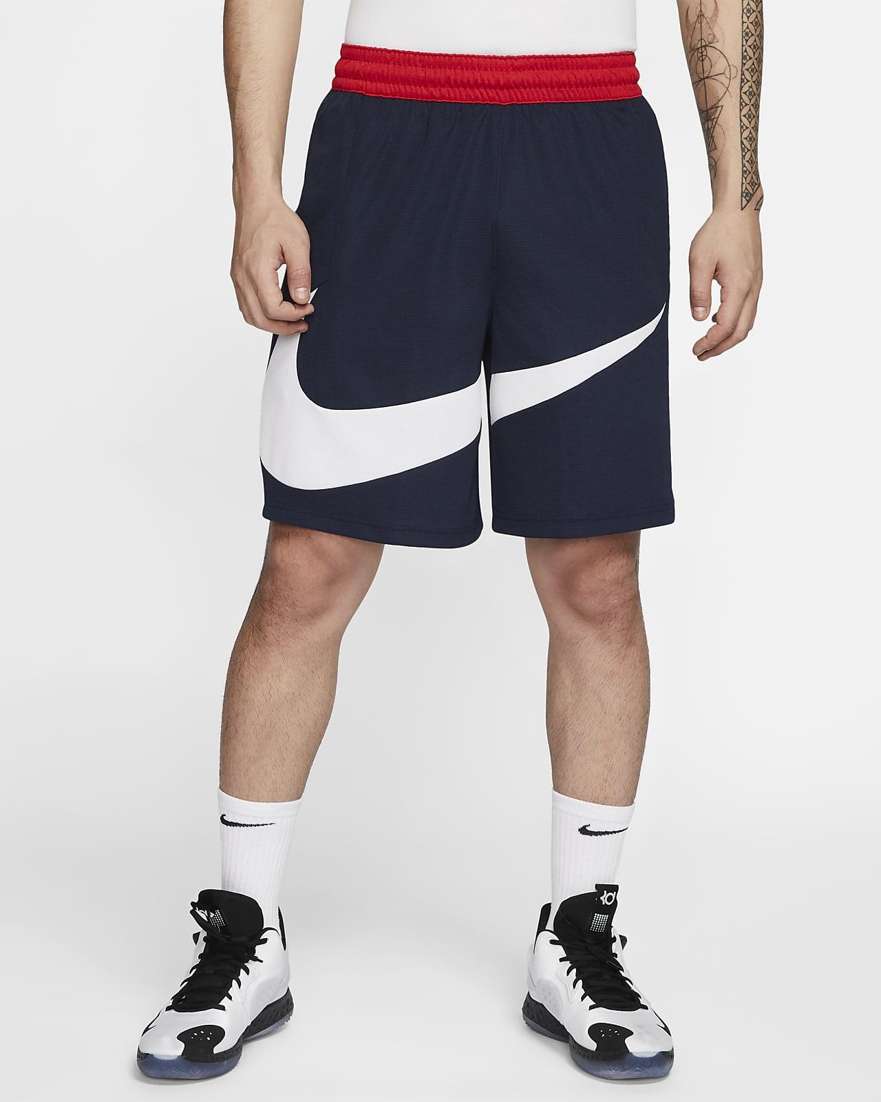 กางเกงบาสเก็ตบอลขาสั้นผู้ชาย Nike Dri-FIT