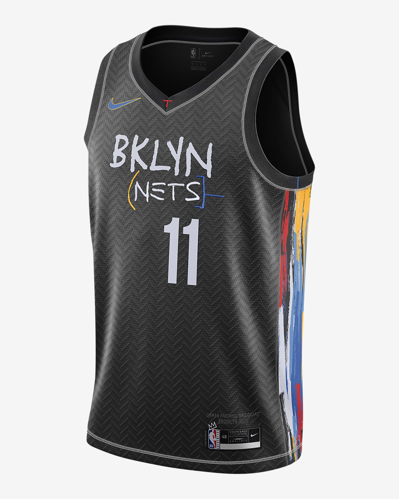 Brooklyn Nets City Edition Nike NBA Swingman mez