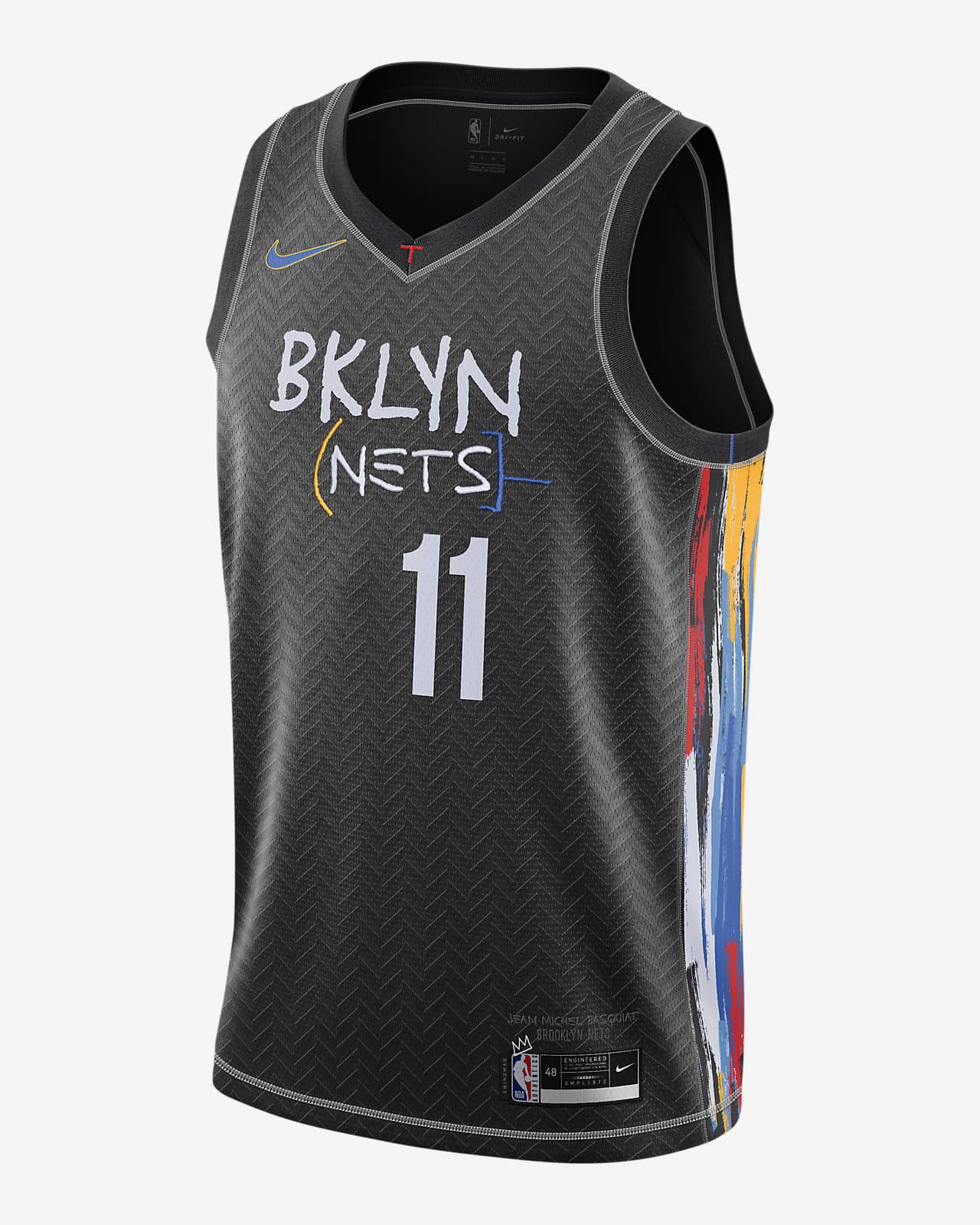 Brooklyn Nets City Edition Nike NBA Swingman Trikot