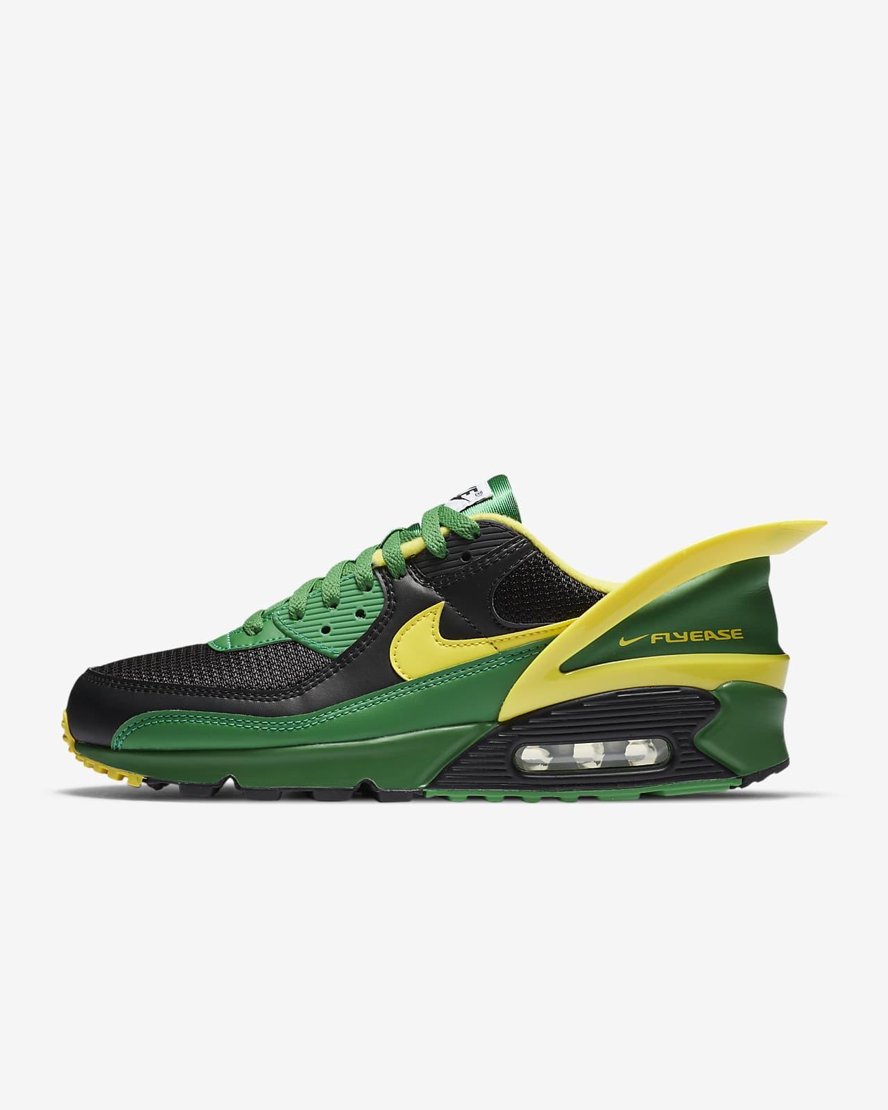 chaussure nike jaune
