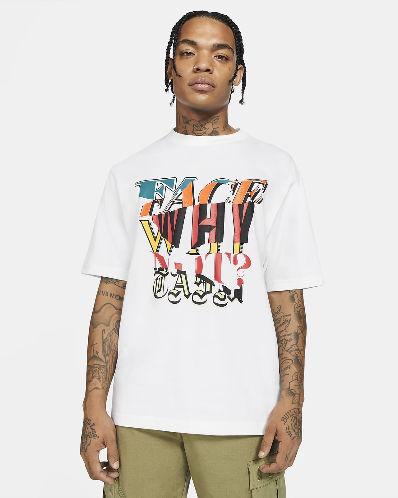 Jordan 'Why Not?' x Facetasm Men's Short-Sleeve T-Shirt