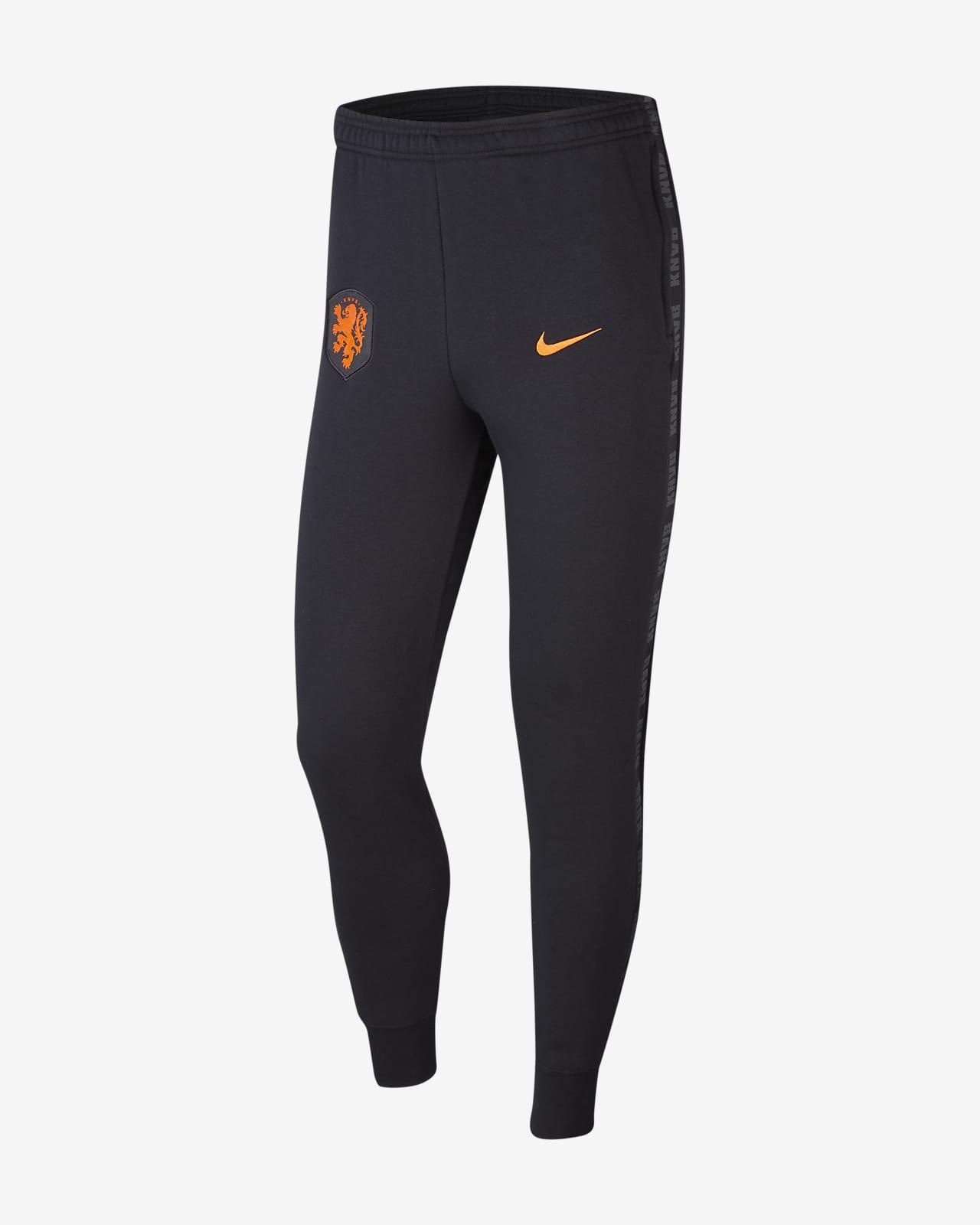 Pánské flísové fotbalové kalhoty Nizozemí