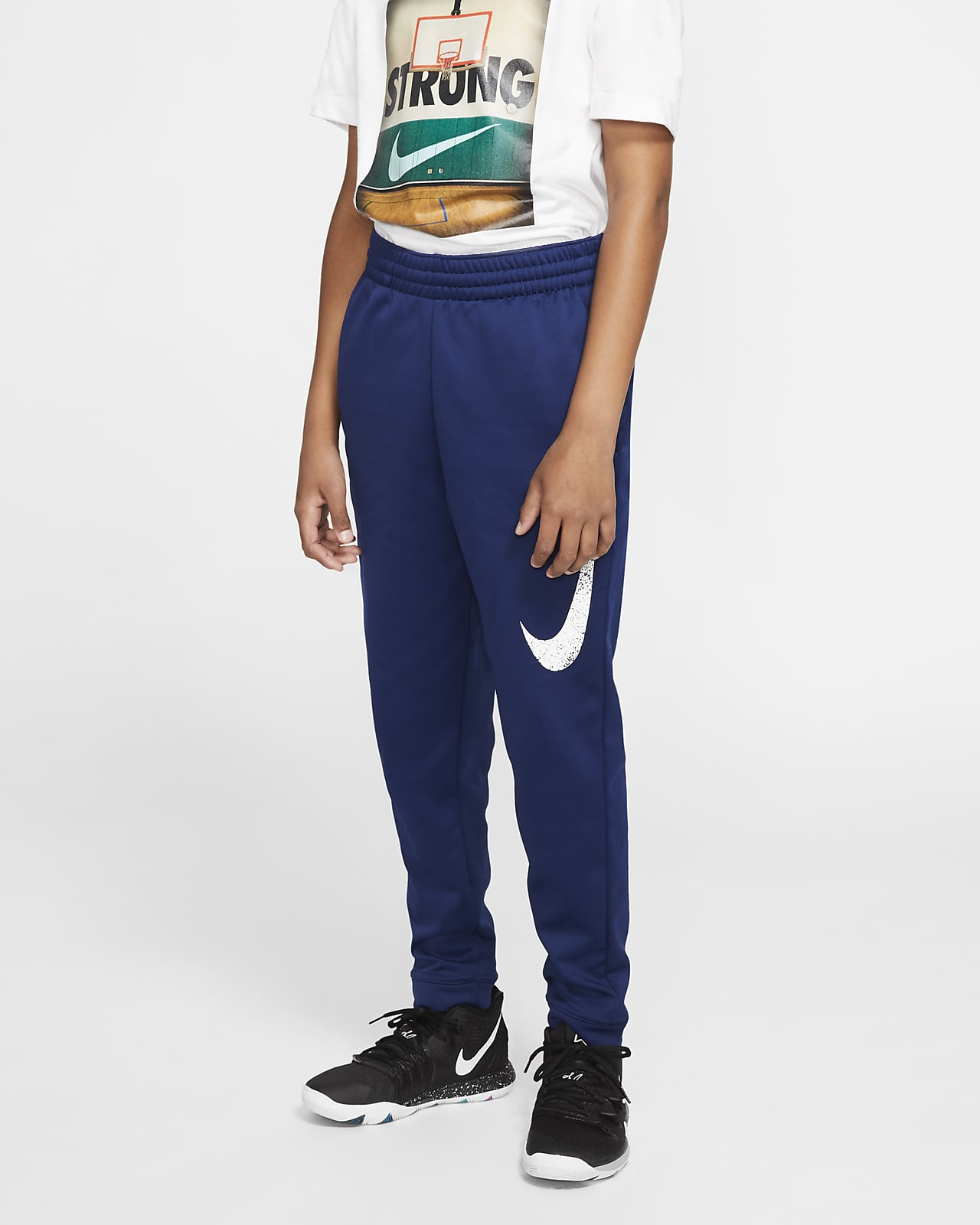 Nike Therma Big Kids' (Boys') Basketball Pants