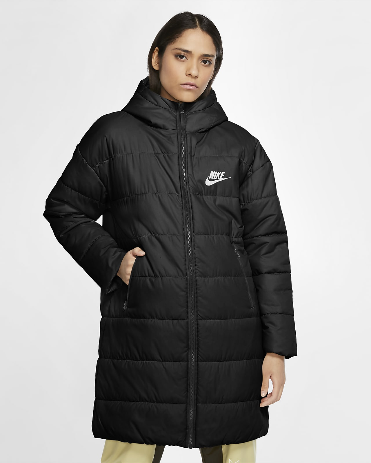 Nike Sportswear parkas med syntetisk fyll til dame