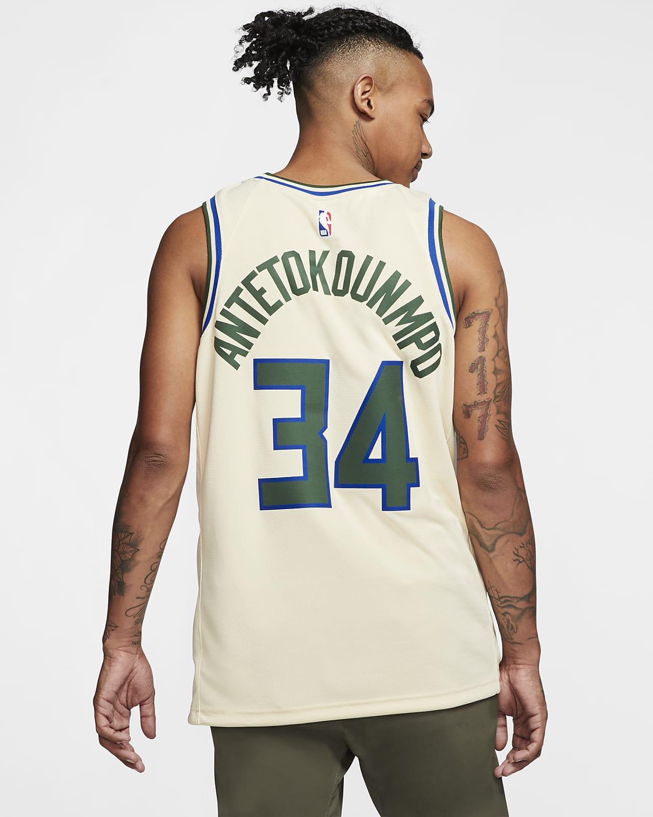 Giannis Antetokounmpo Bucks – City Edition Nike NBA Swingman 球衣