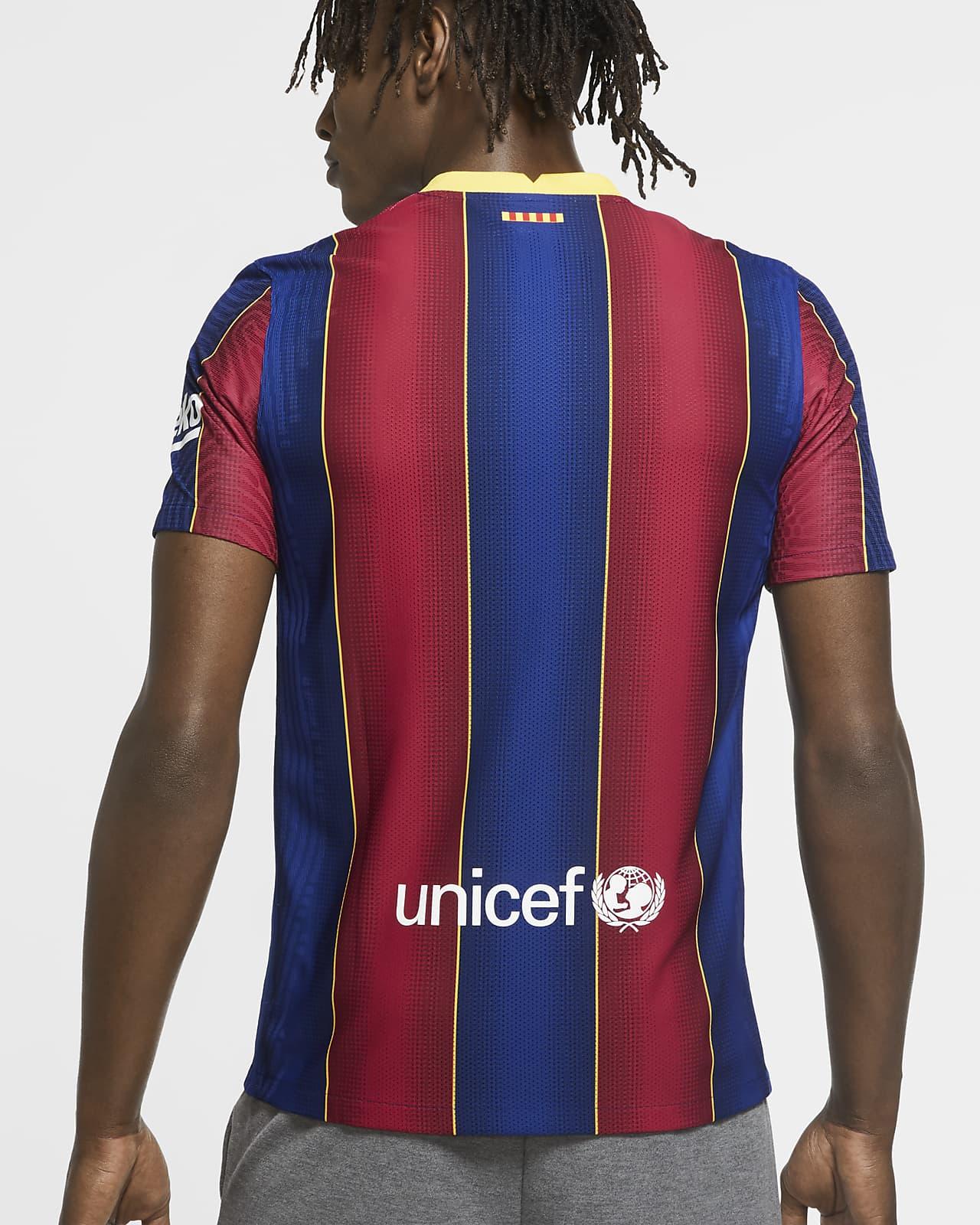 Fc Barcelona 2020 21 Vapor Match Home Men S Soccer Jersey Nike Com