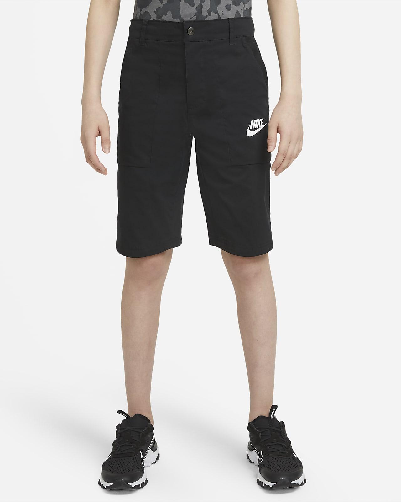 Nike Sportswear-cargoshorts til større børn (drenge)