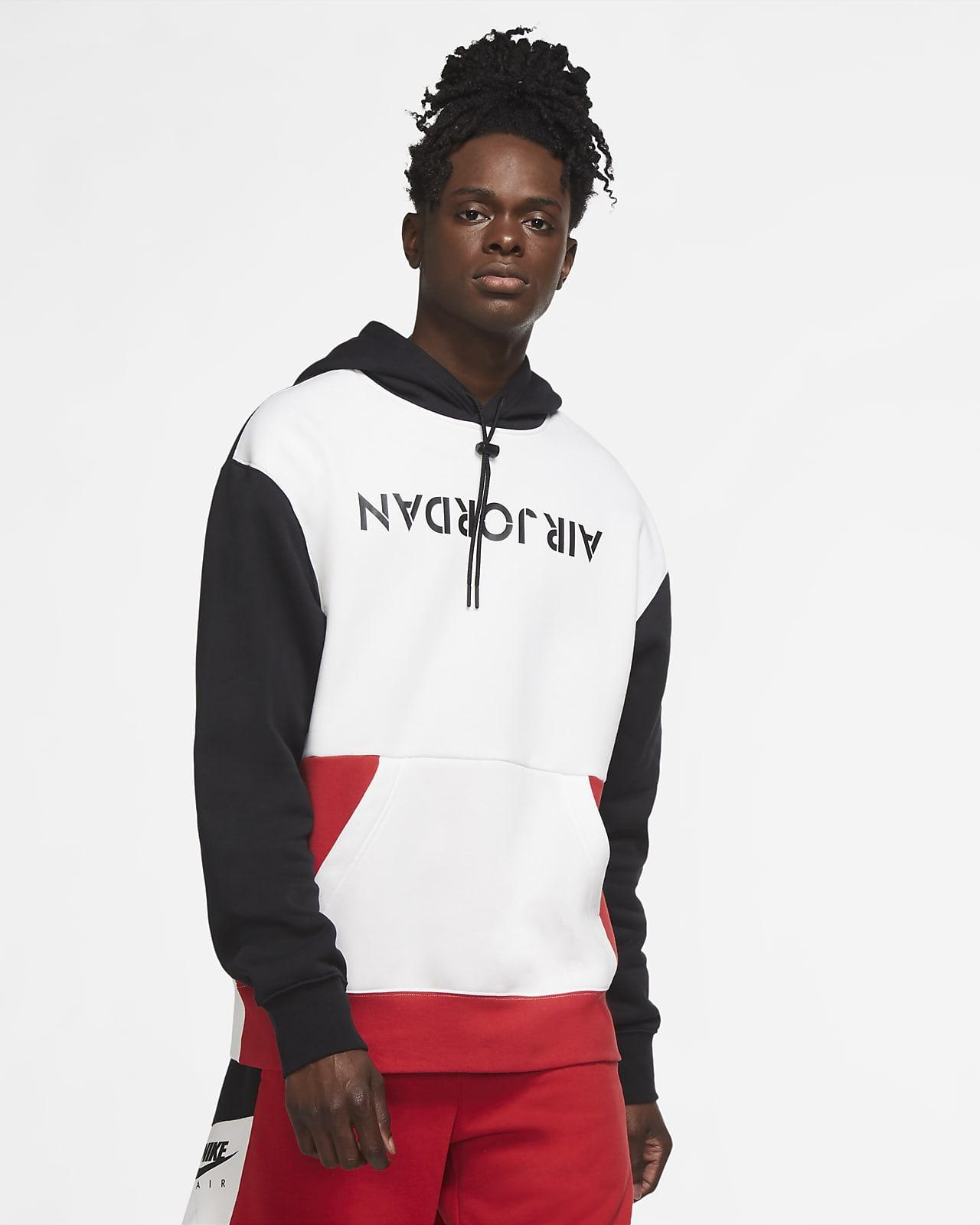 Felpa pullover in fleece con cappuccio Jordan AJ4 Graphic - Uomo