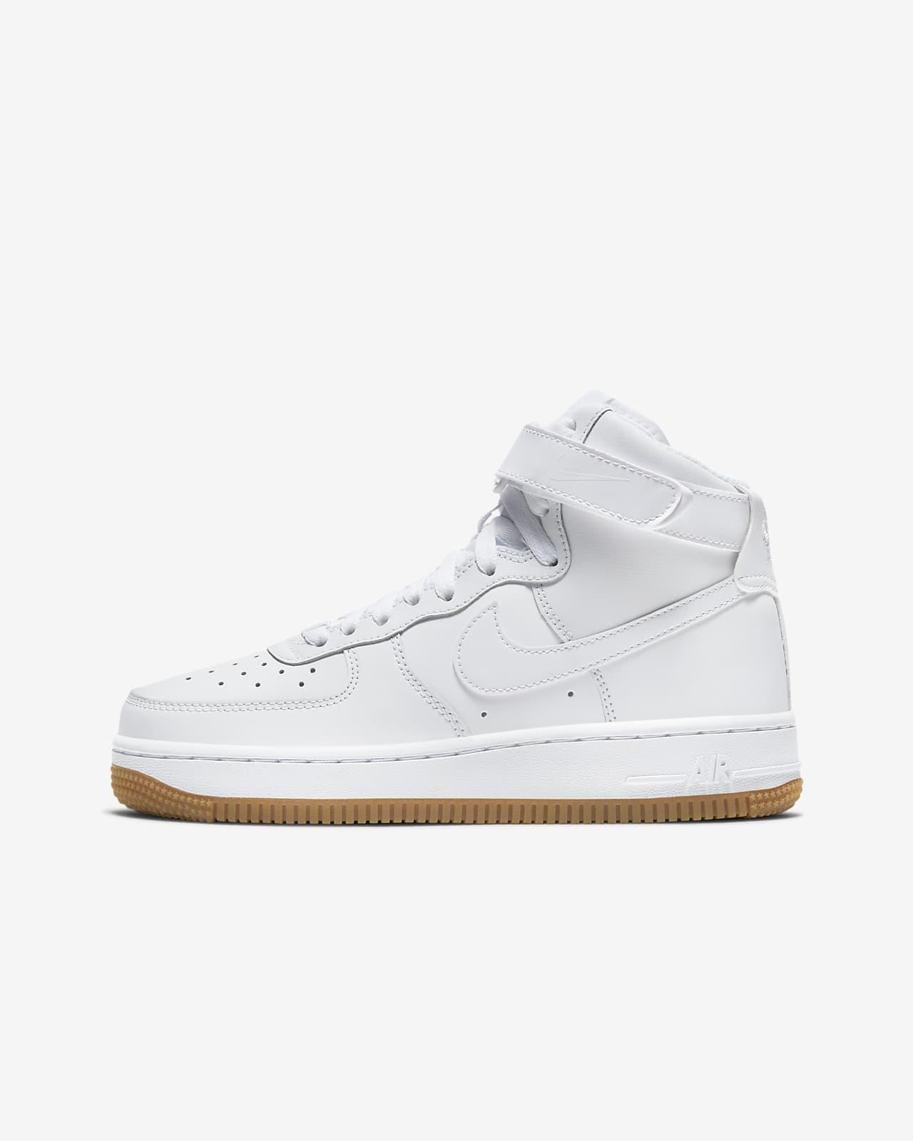 Nike Air Force 1 High Big Kids' Shoes