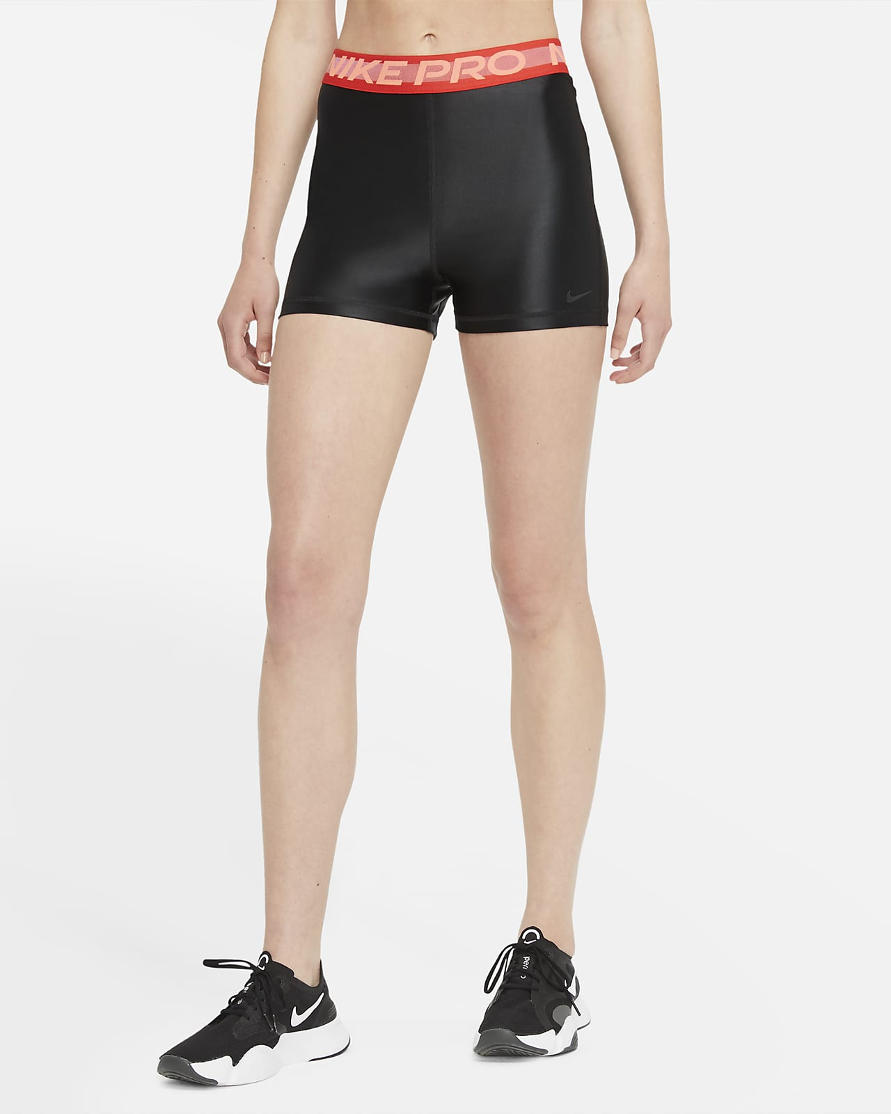 "Nike Pro Women's High-Rise 3"" Shorts"