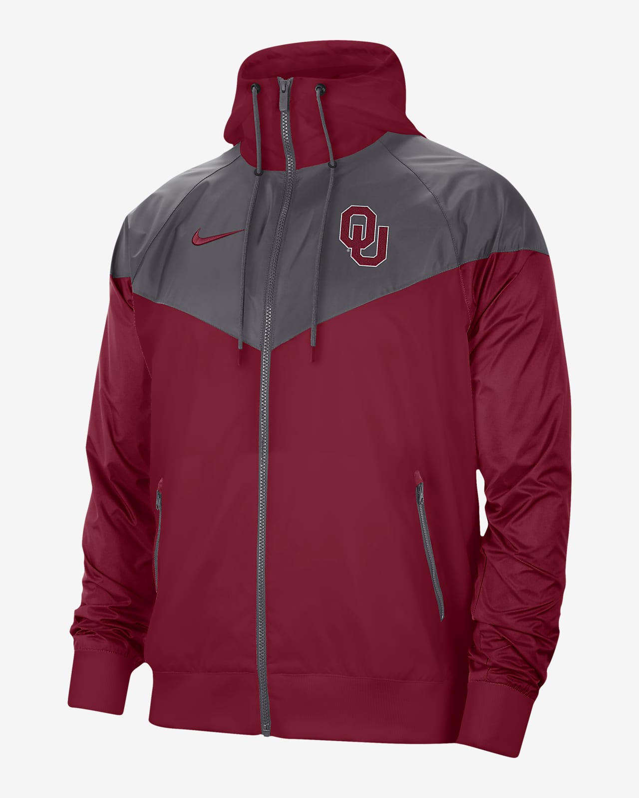 Windrunner para hombre Nike College (Oklahoma)