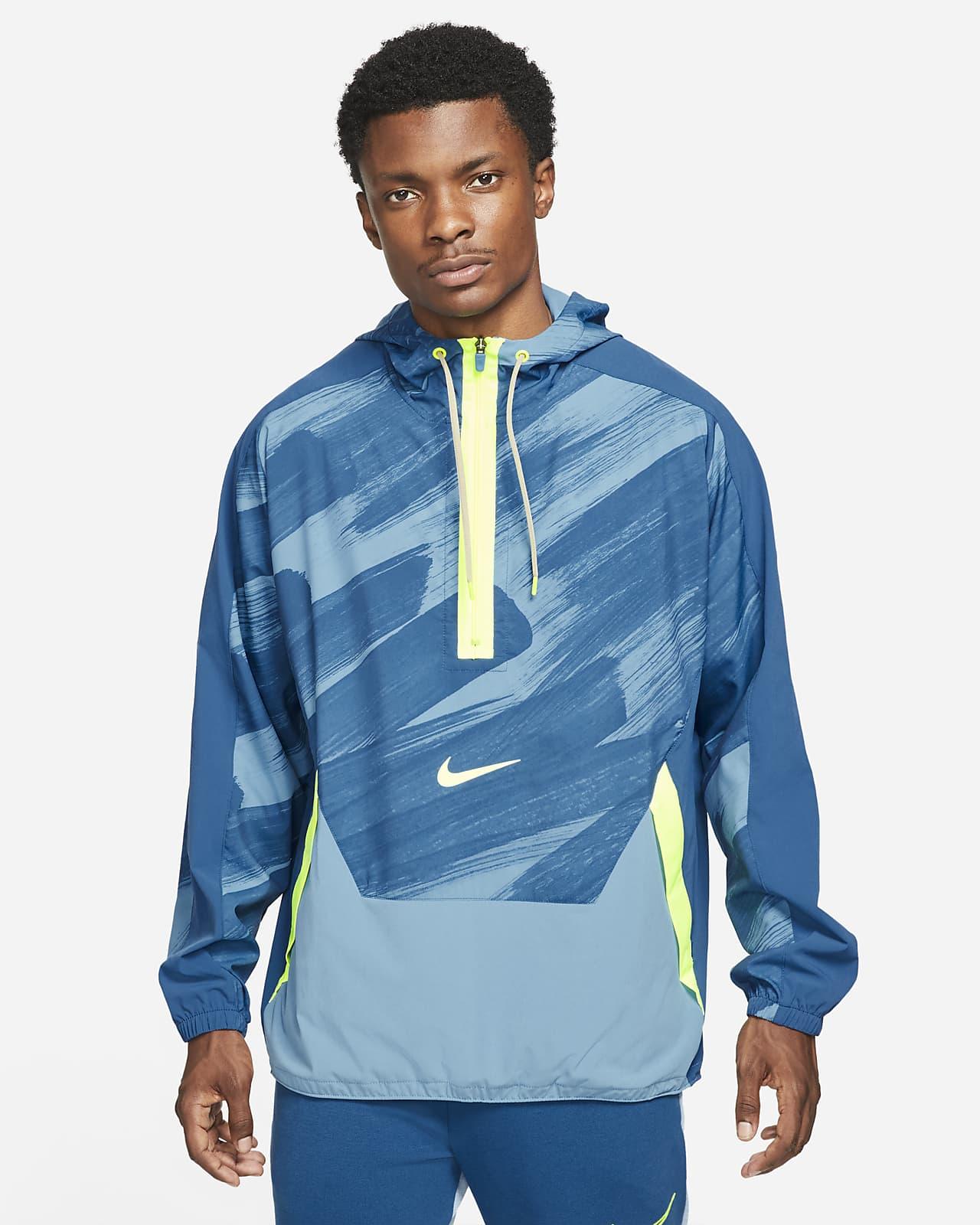 Nike Dri-FIT Sport Clash Web-Trainings-Hoodie mit Halbreißverschluss für Herren