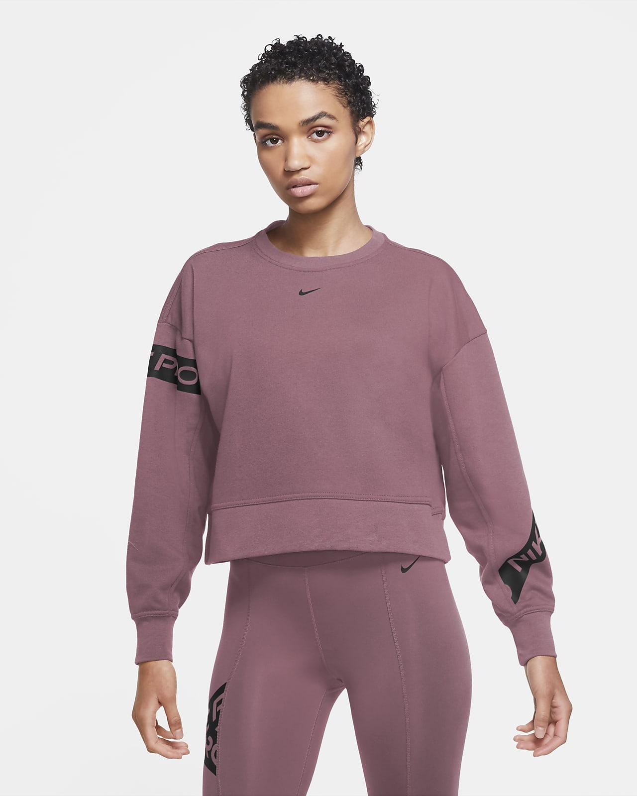 Nike Pro Dri-FIT Get Fit Trainings-Rundhalsshirt für Damen