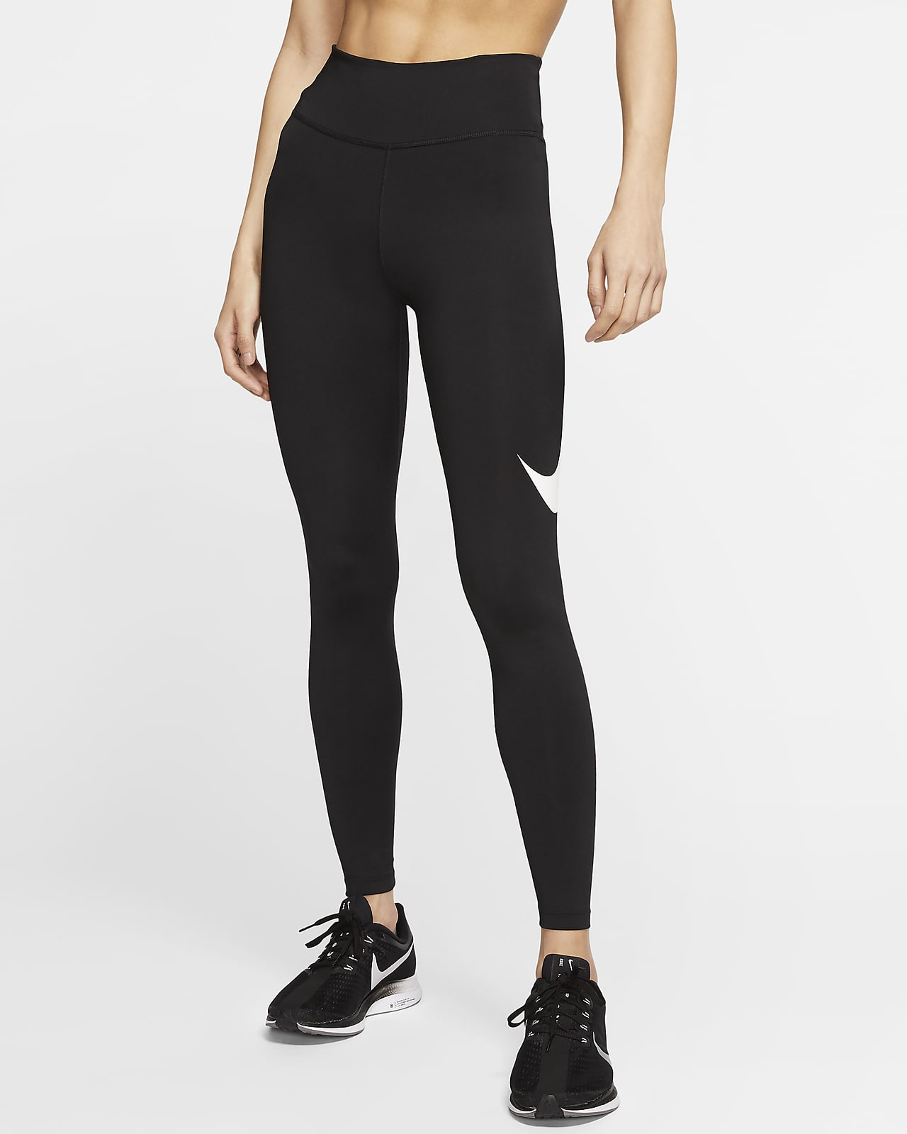 Nike 7/8-Lauf-Tights mit mittelhohem Bund für Damen