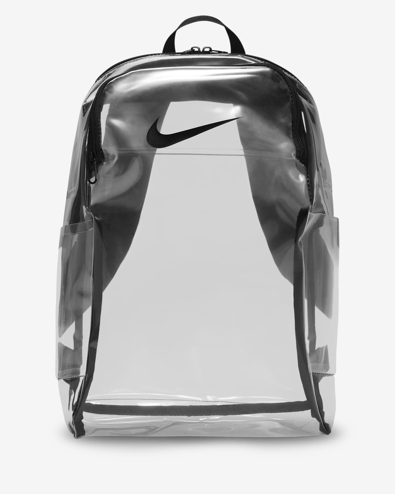 Mochila transparente de entrenamiento Nike Brasilia