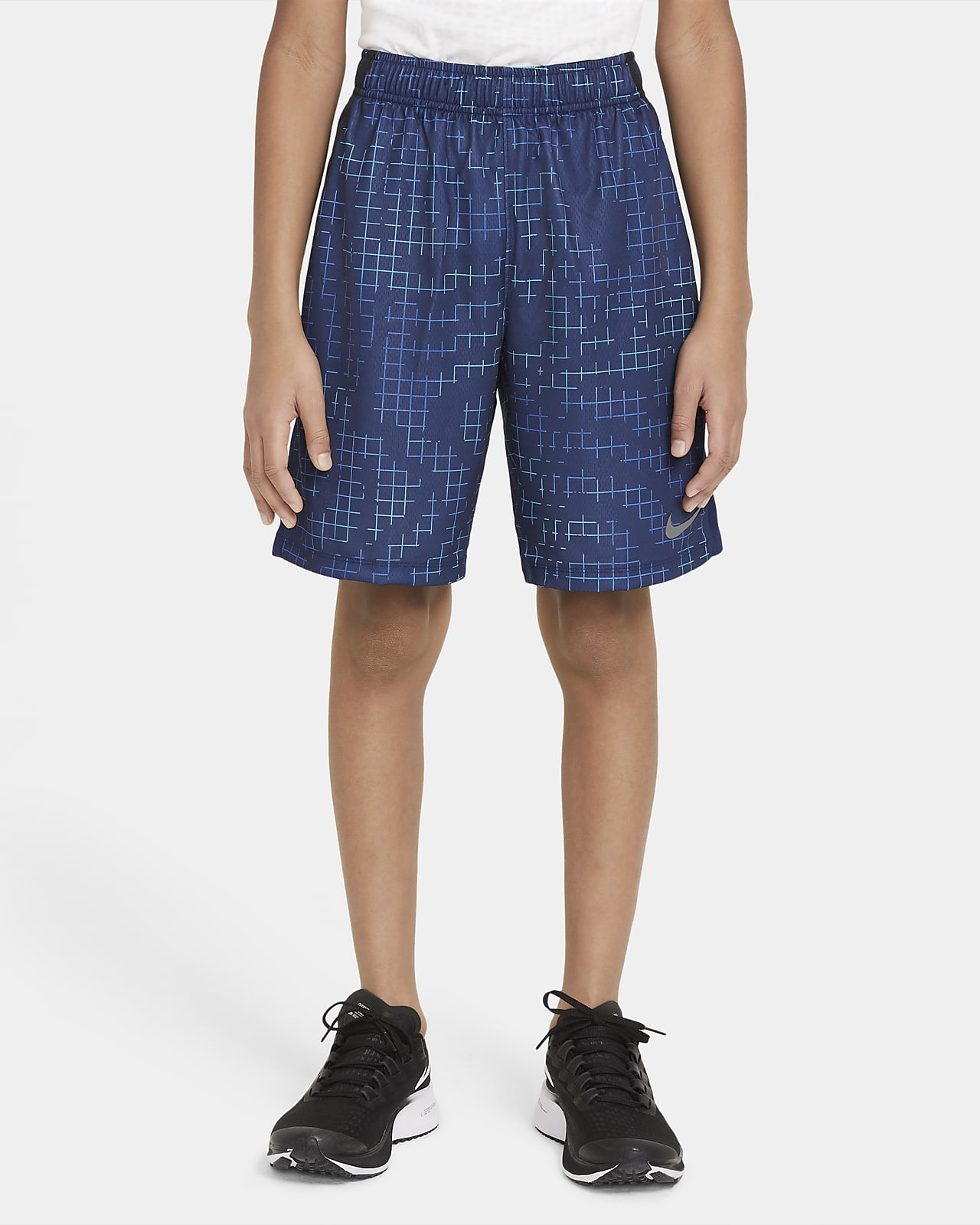 Nike Dri-FIT 大童 (男童) 印花訓練短褲