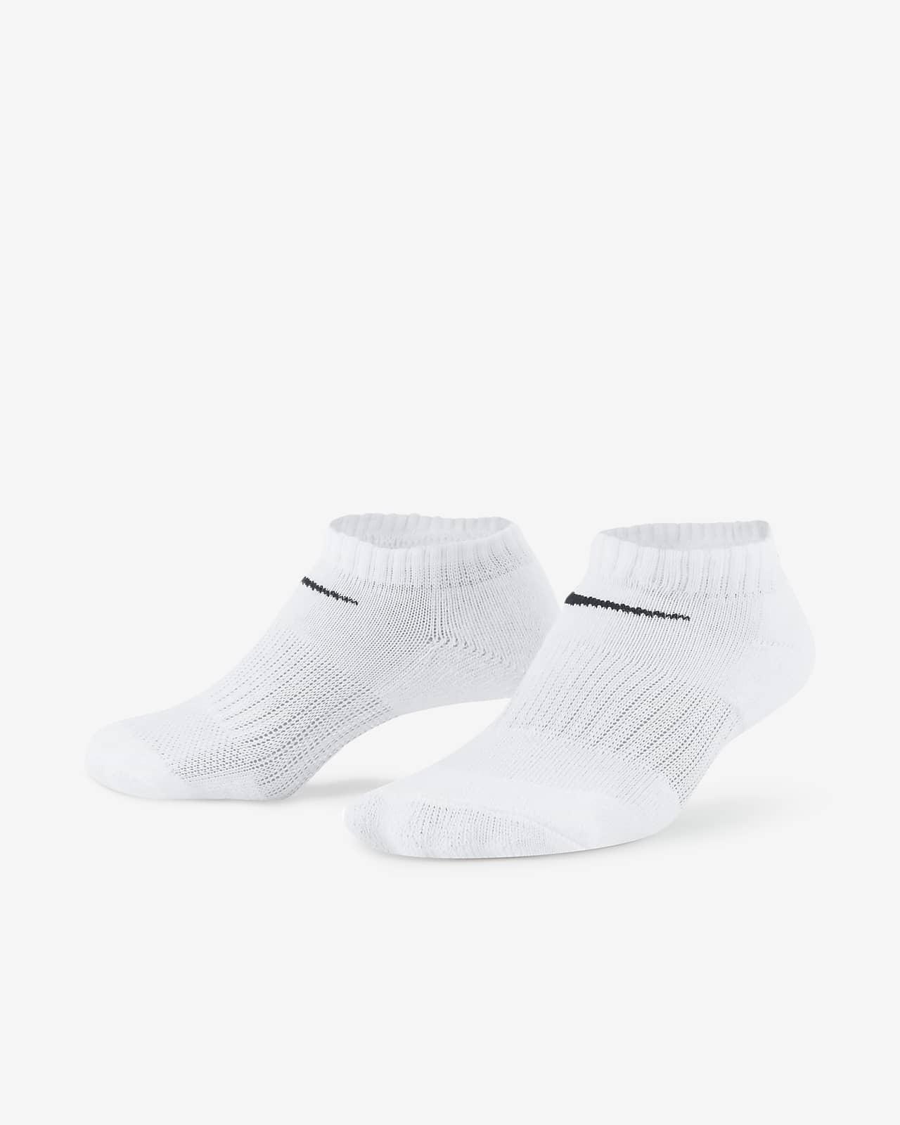 Nike Dri-FIT Little Kids' No-Show Socks (3 Pairs)