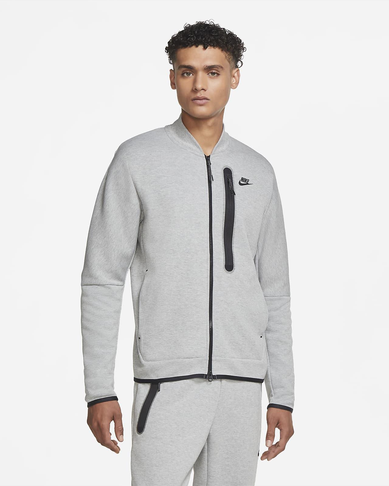 เสื้อบอมเบอร์ผู้ชาย Nike Sportswear Tech Fleece