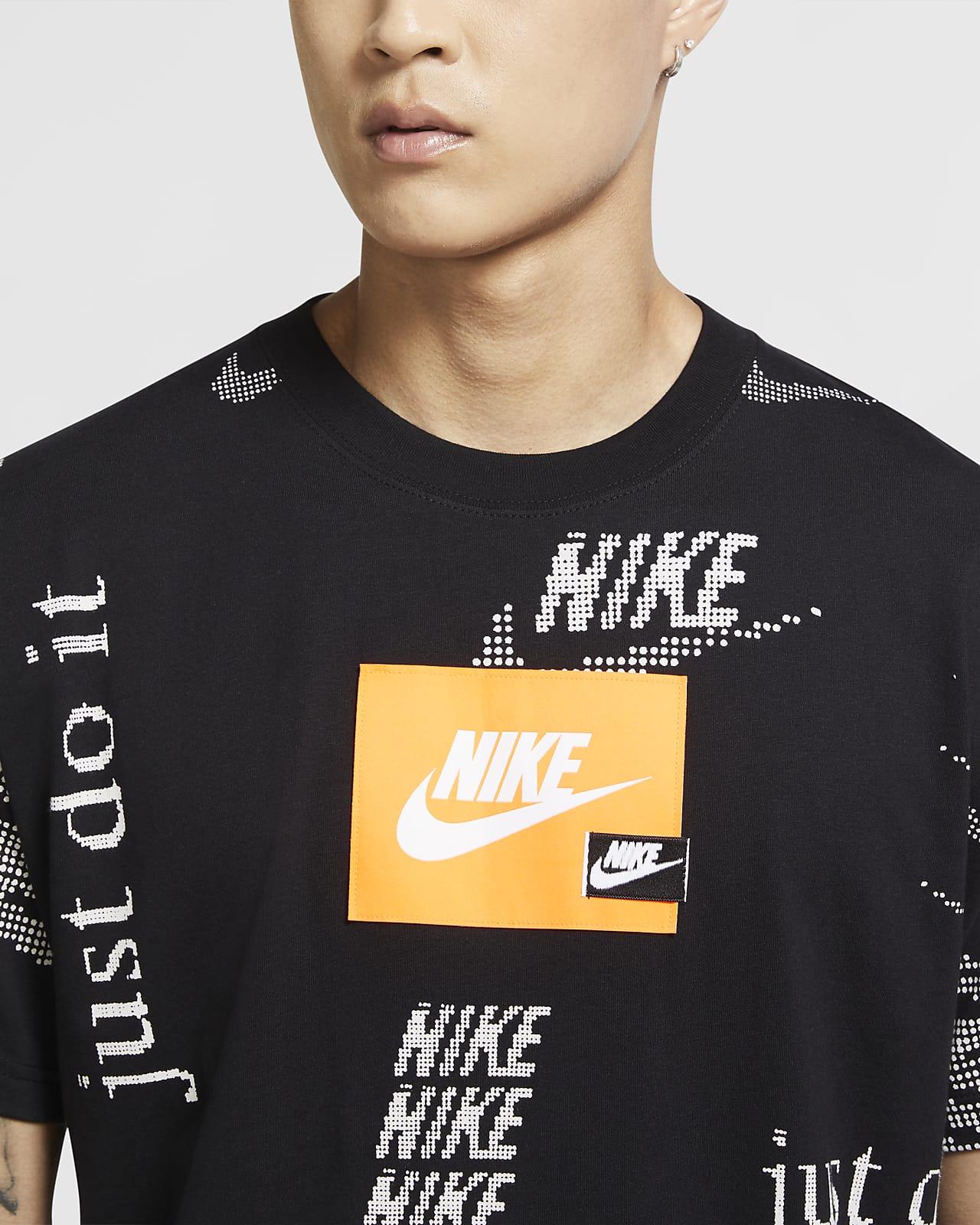 T-shirt NIKE NK CJ5336-010 Tshirt Herren LangarT Shirt Sport