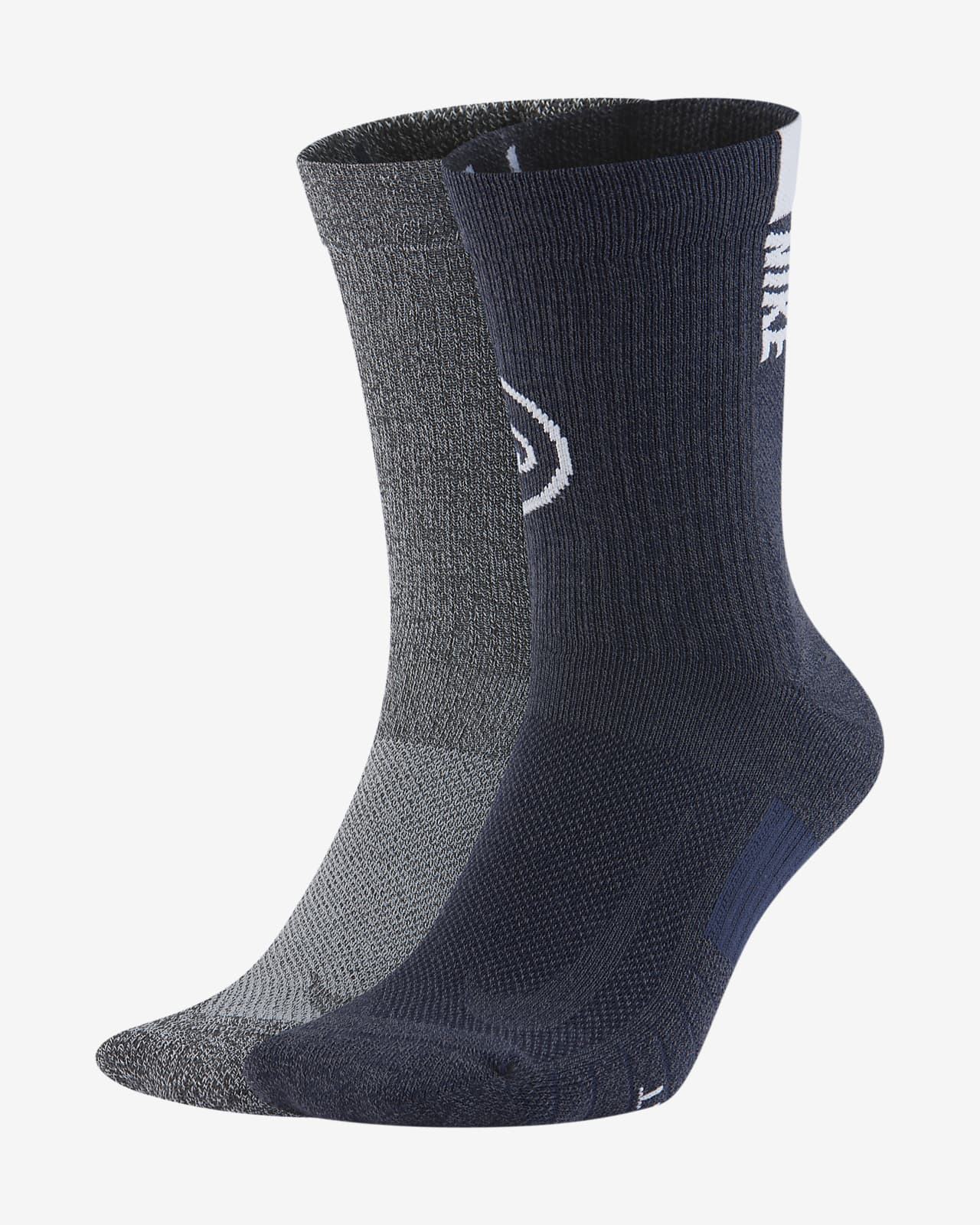 Nike College Multiplier (Penn State) Crew Socks (2 Pairs)