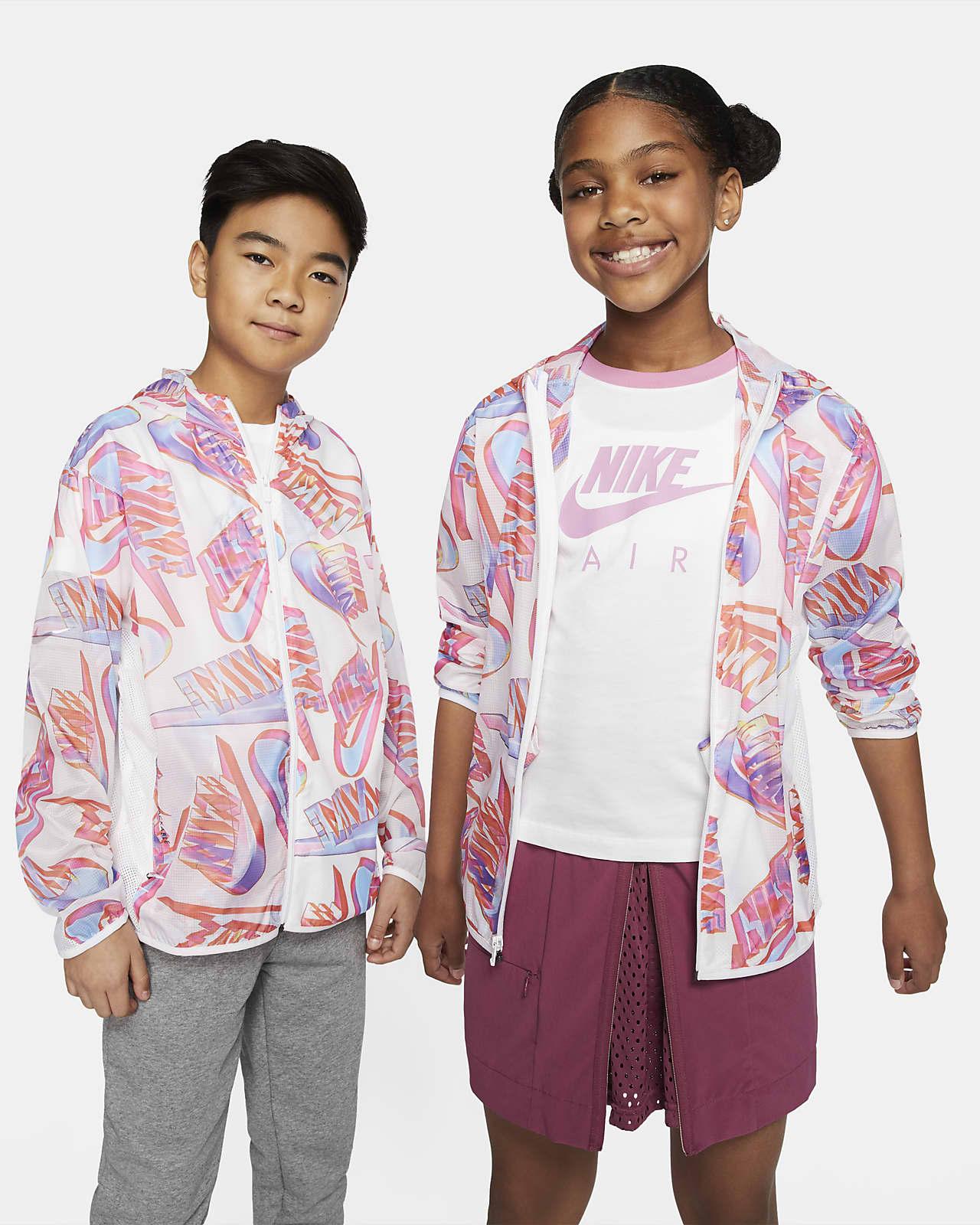 Куртка со складной конструкцией для мальчиков школьного возраста Nike Sportswear Tech Pack