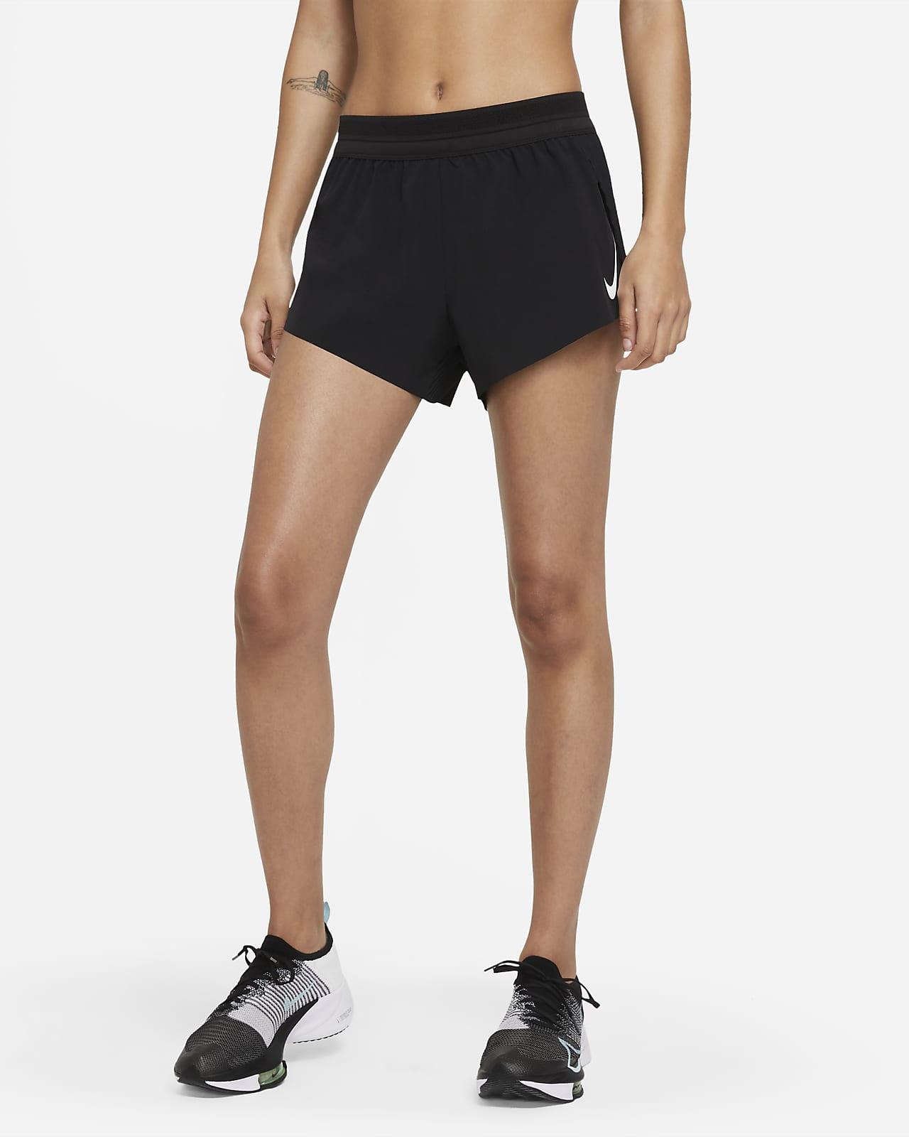 Shorts de running para mujer Nike AeroSwift