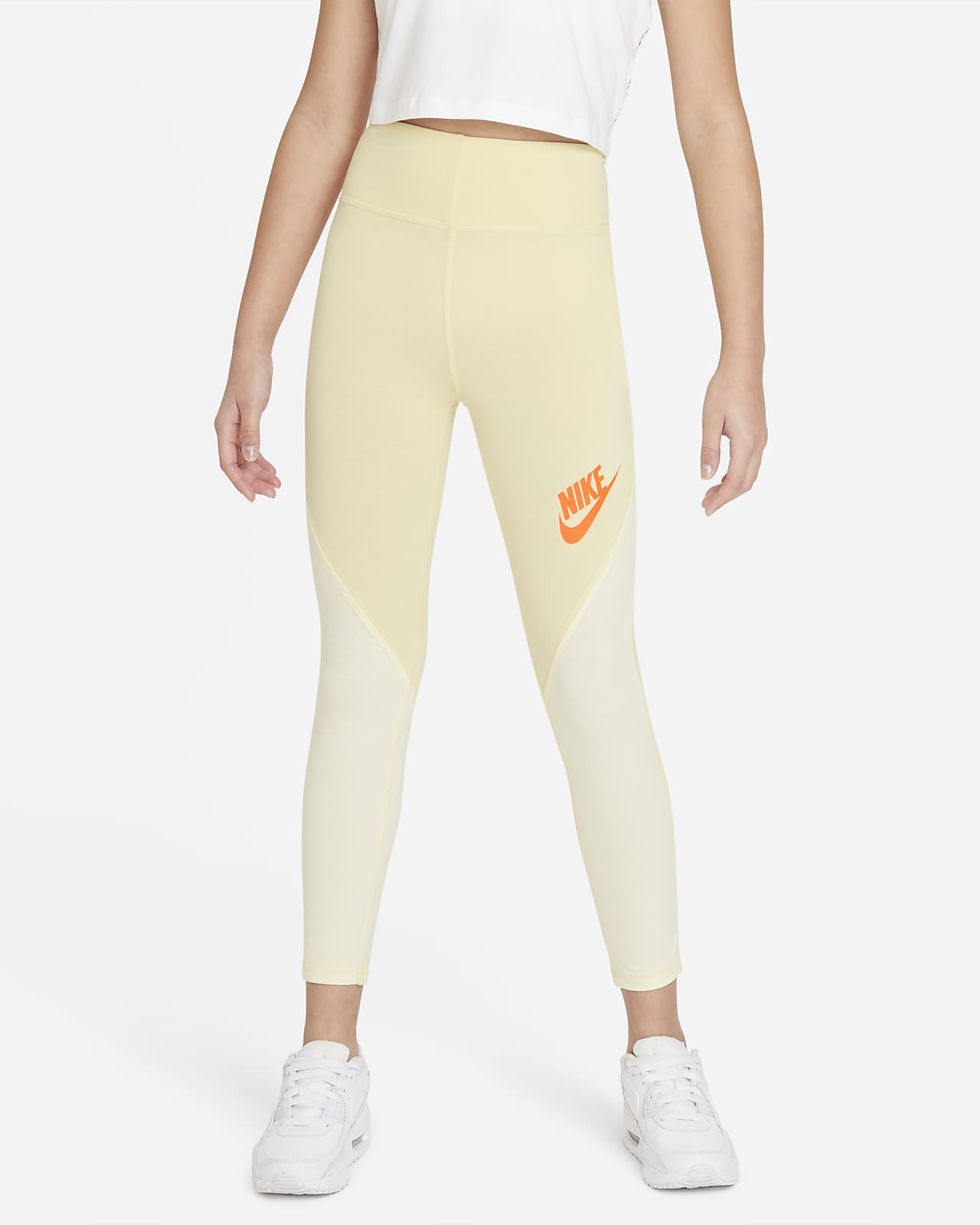 Nike Sportswear Favorites Yüksek Belli Genç Çocuk (Kız) Taytı