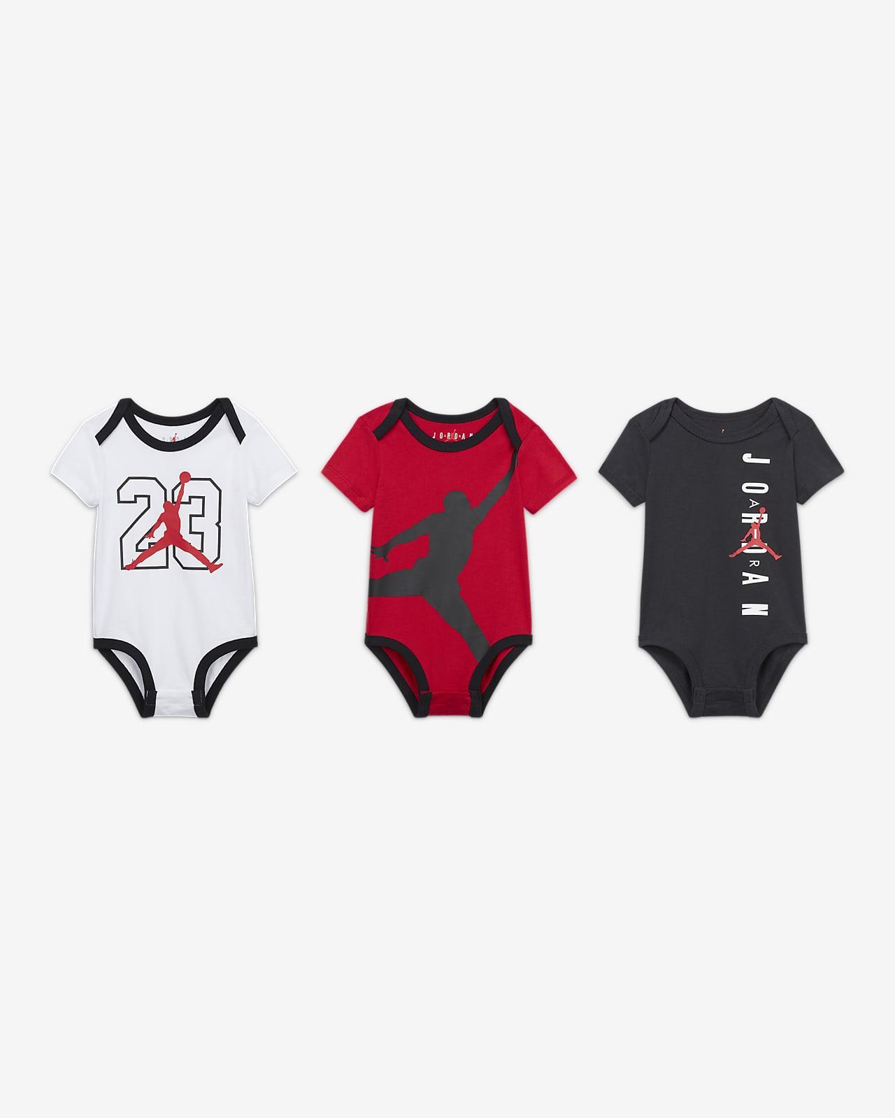 Jordan Milestone 婴童连体衣(3 件)