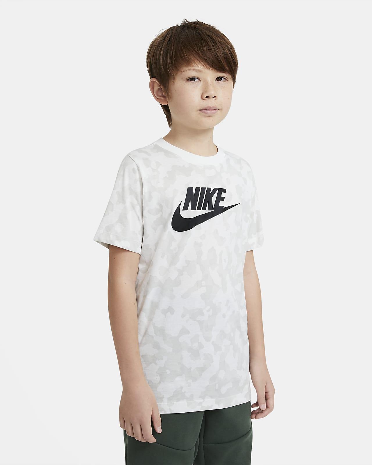 Nike Sportswear Big Kids' (Boys') Printed T-Shirt