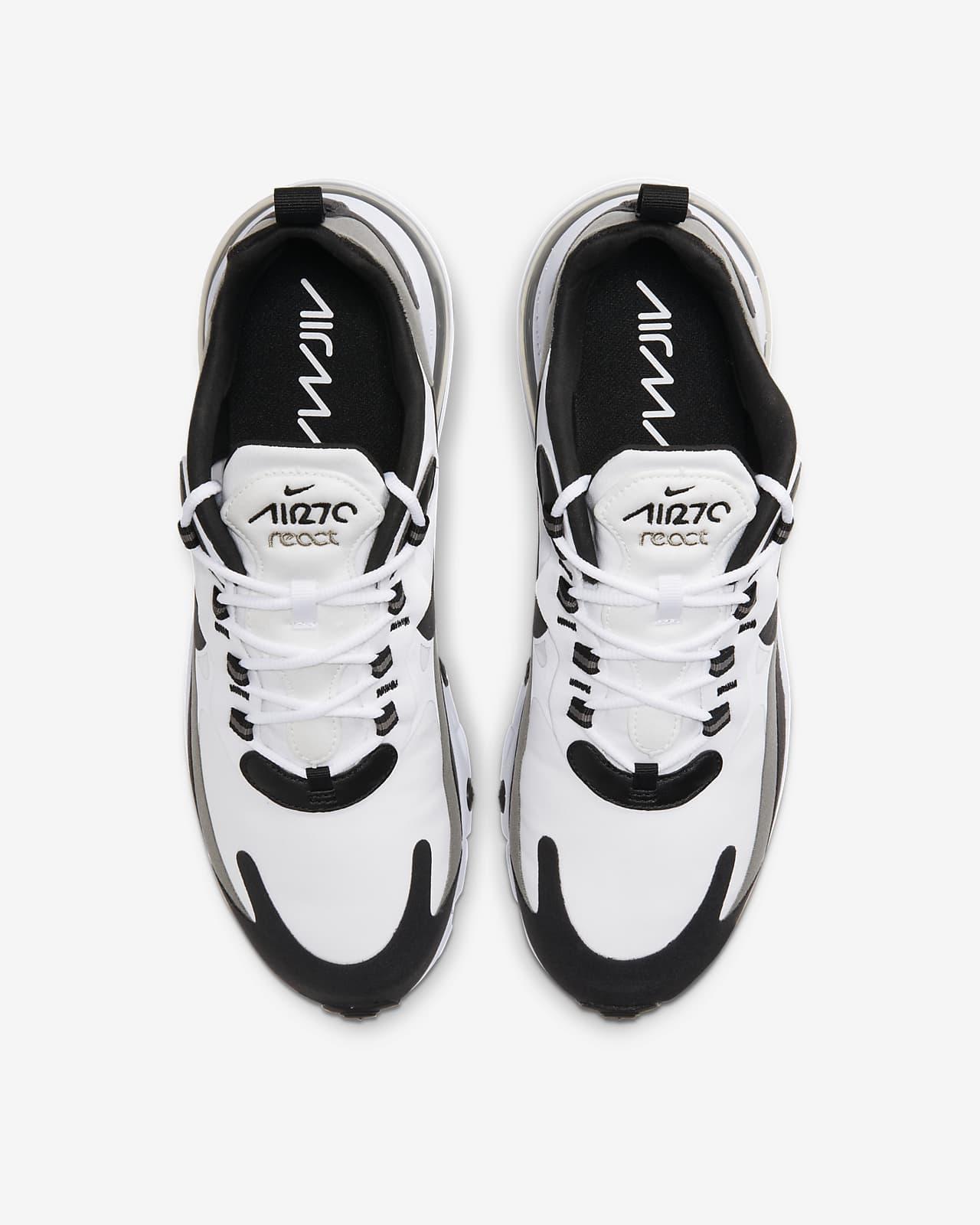 air max 270 react on feet men