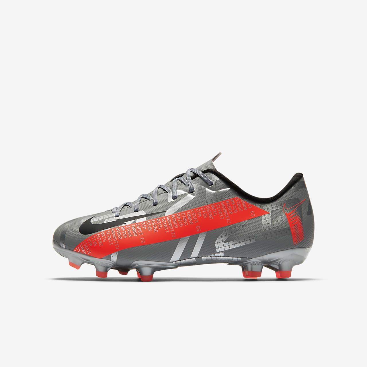 รองเท้าสตั๊ดฟุตบอลเด็กสำหรับพื้นหลายประเภท Nike Jr. Mercurial Vapor 13 Academy MG